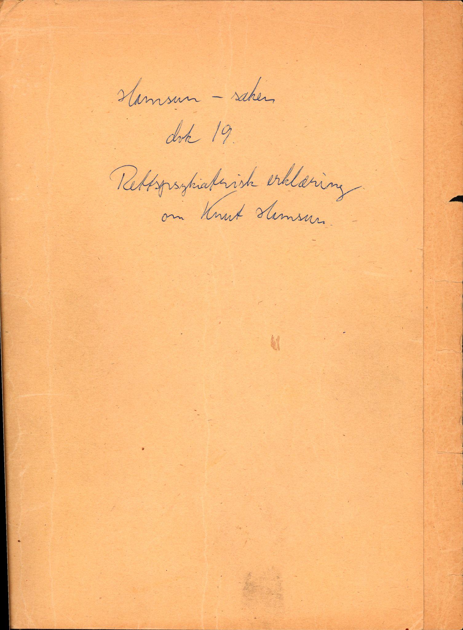 RA, Landssvikarkivet, Arendal politikammer, D/Dc/L0029: Anr. 192/45, 1945-1951, s. 125