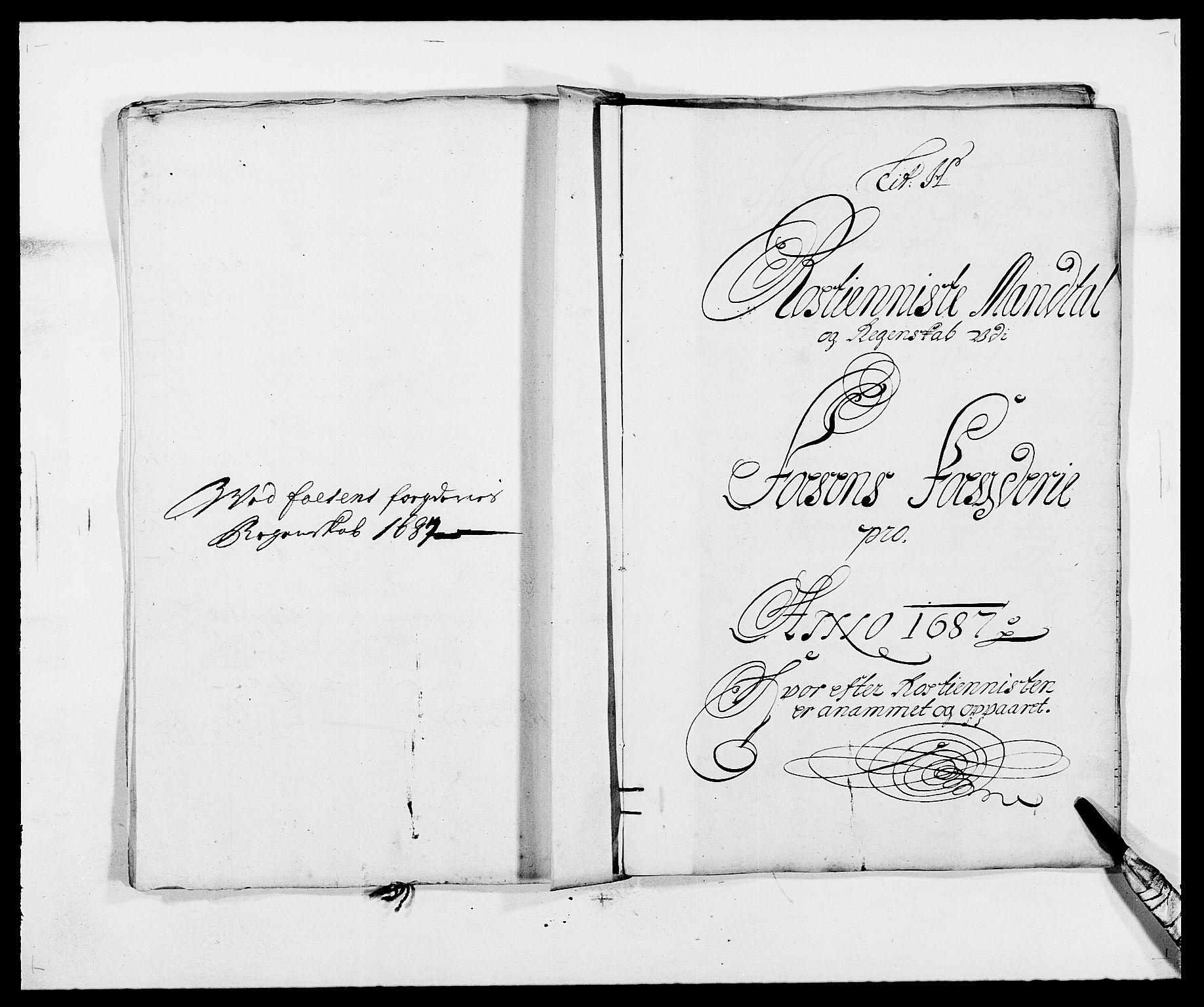 RA, Rentekammeret inntil 1814, Reviderte regnskaper, Fogderegnskap, R57/L3845: Fogderegnskap Fosen, 1687, s. 81