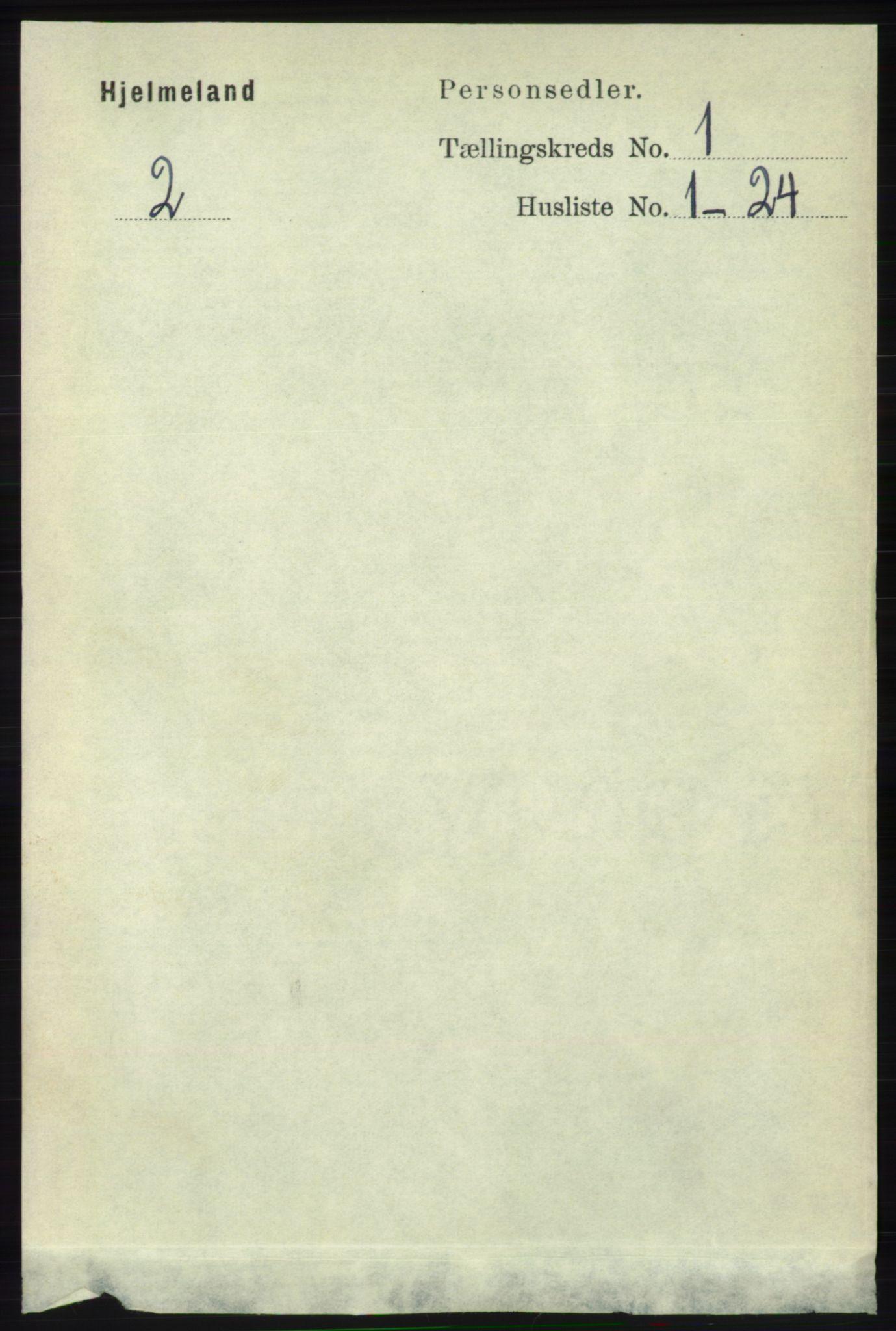 RA, Folketelling 1891 for 1133 Hjelmeland herred, 1891, s. 76