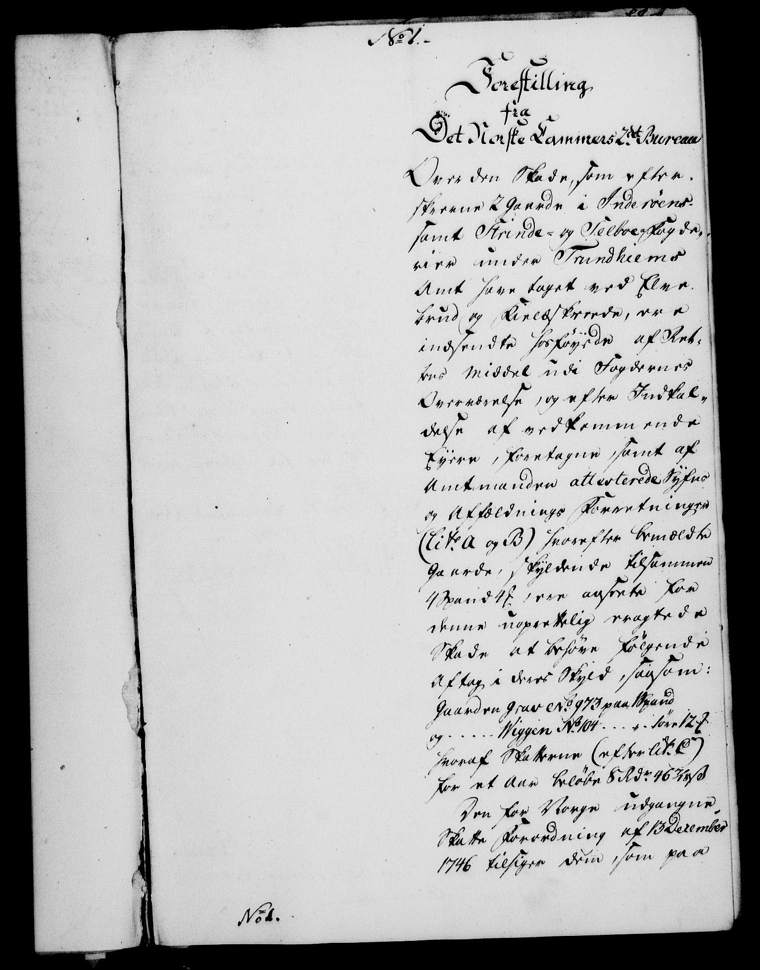 RA, Rentekammeret, Kammerkanselliet, G/Gf/Gfa/L0054: Norsk relasjons- og resolusjonsprotokoll (merket RK 52.54), 1771-1772, s. 203