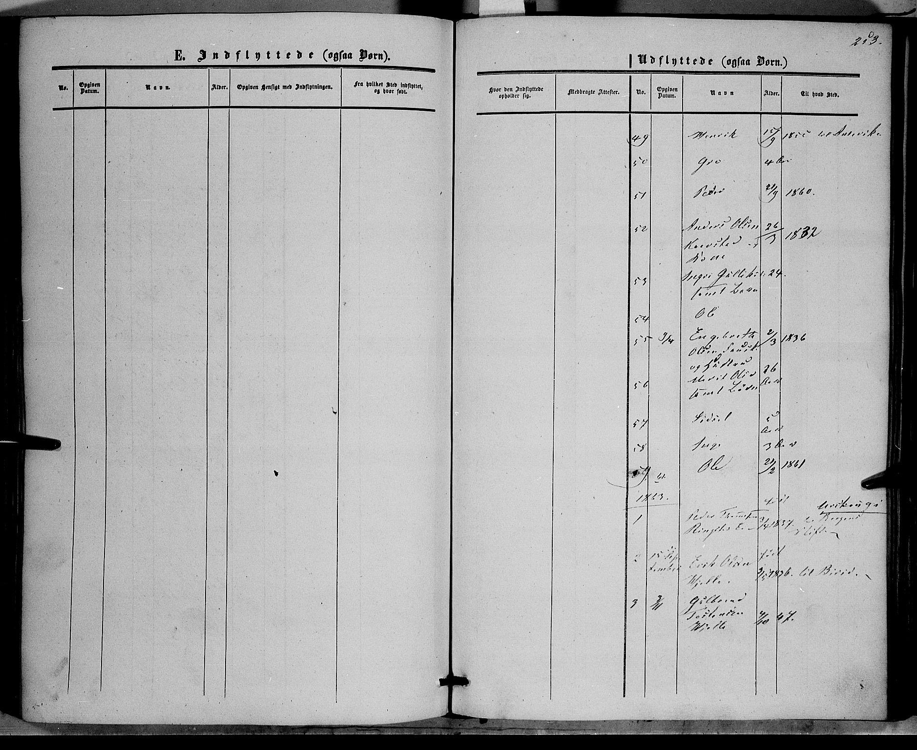 SAH, Vestre Slidre prestekontor, Ministerialbok nr. 2, 1856-1864, s. 253