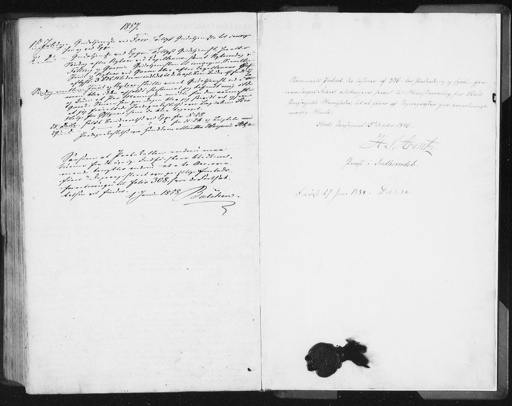 SAT, Ministerialprotokoller, klokkerbøker og fødselsregistre - Nord-Trøndelag, 746/L0446: Ministerialbok nr. 746A05, 1846-1859