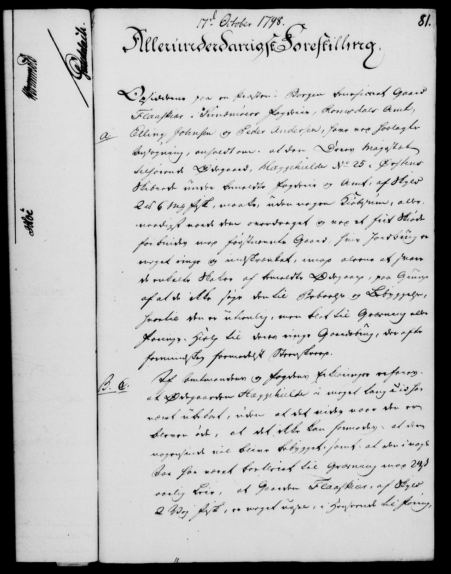 RA, Rentekammeret, Kammerkanselliet, G/Gf/Gfa/L0080: Norsk relasjons- og resolusjonsprotokoll (merket RK 52.80), 1798, s. 534