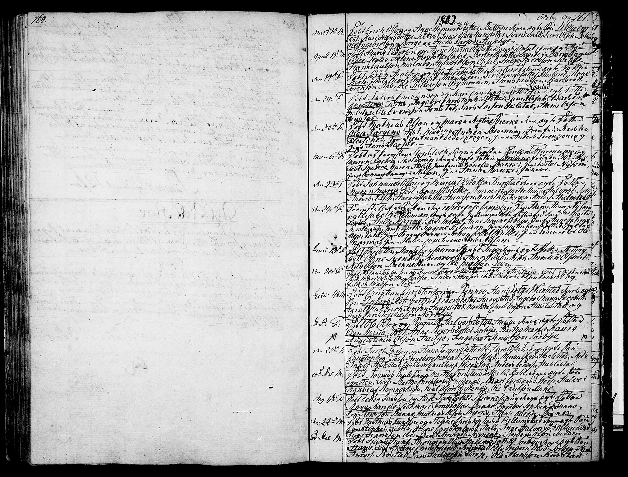 SAKO, Våle kirkebøker, F/Fa/L0005: Ministerialbok nr. I 5, 1773-1808, s. 160-161