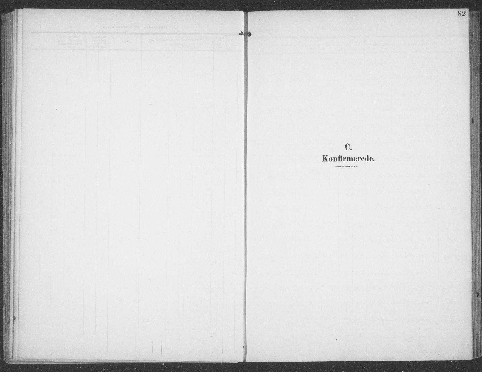 SATØ, Talvik sokneprestkontor, H/Ha/L0017kirke: Ministerialbok nr. 17, 1906-1915, s. 82