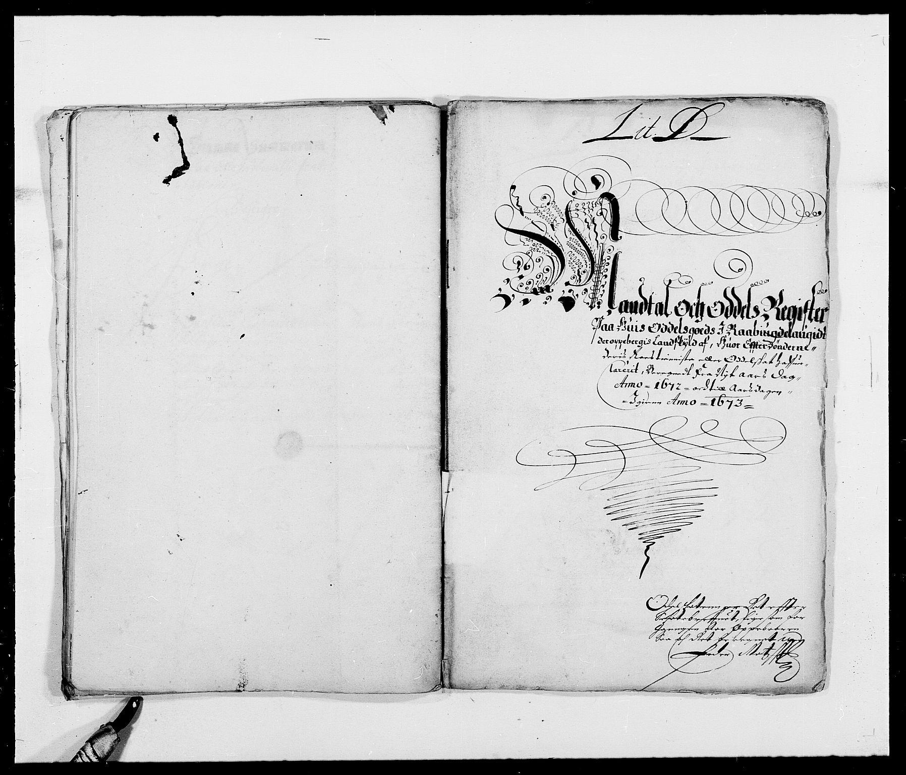 RA, Rentekammeret inntil 1814, Reviderte regnskaper, Fogderegnskap, R40/L2433: Fogderegnskap Råbyggelag, 1671-1674, s. 117