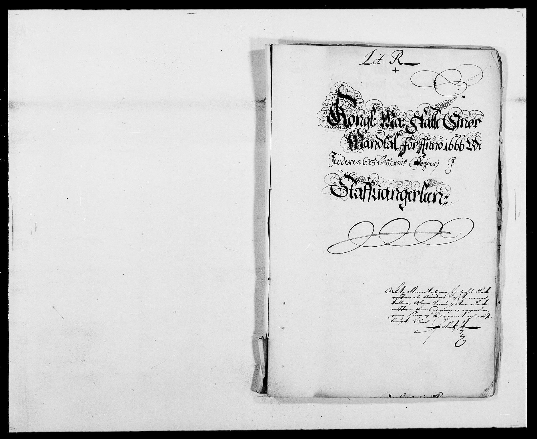 RA, Rentekammeret inntil 1814, Reviderte regnskaper, Fogderegnskap, R46/L2710: Fogderegnskap Jæren og Dalane, 1667, s. 186