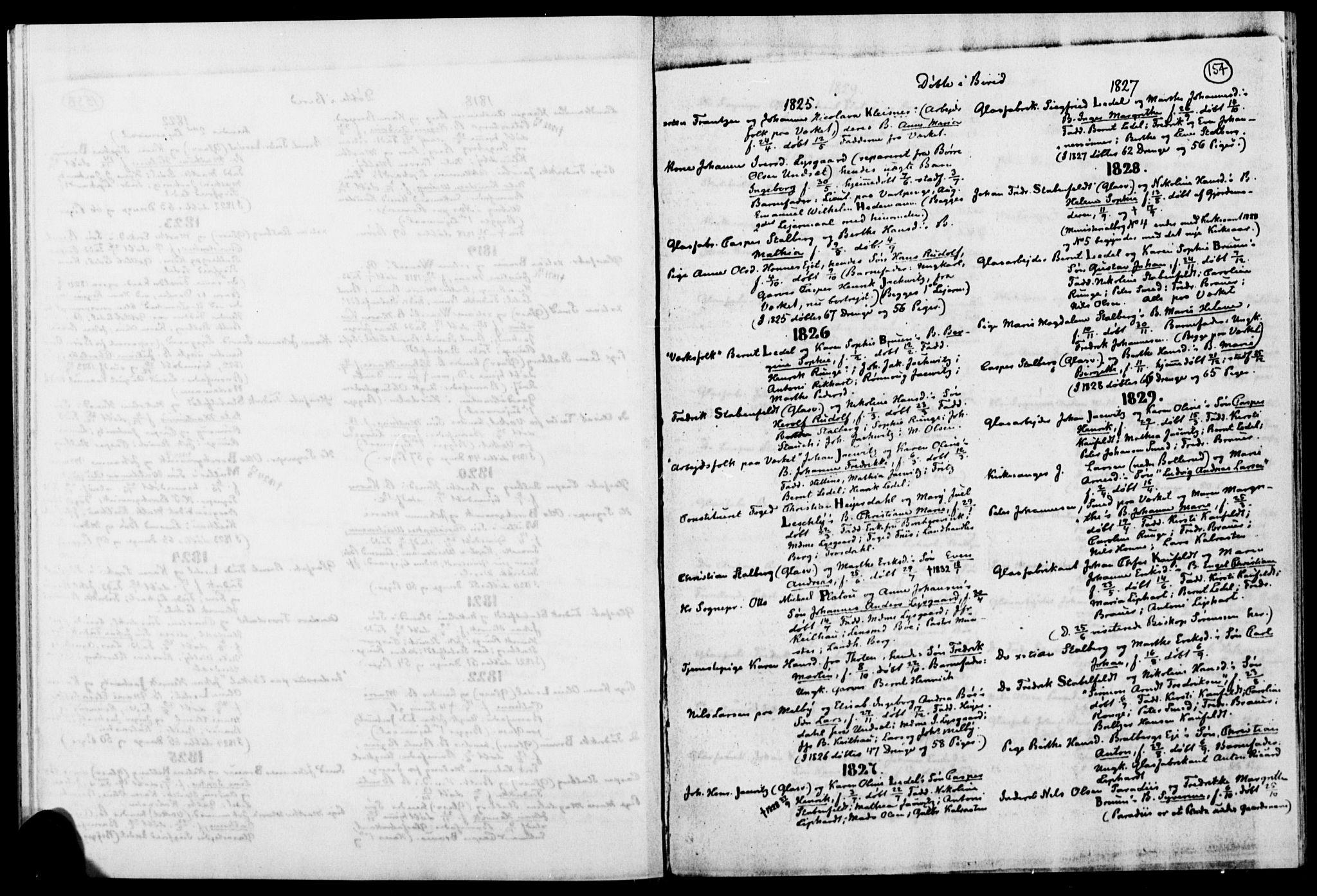SAH, Biri prestekontor, Ministerialbok, 1730-1879, s. 154