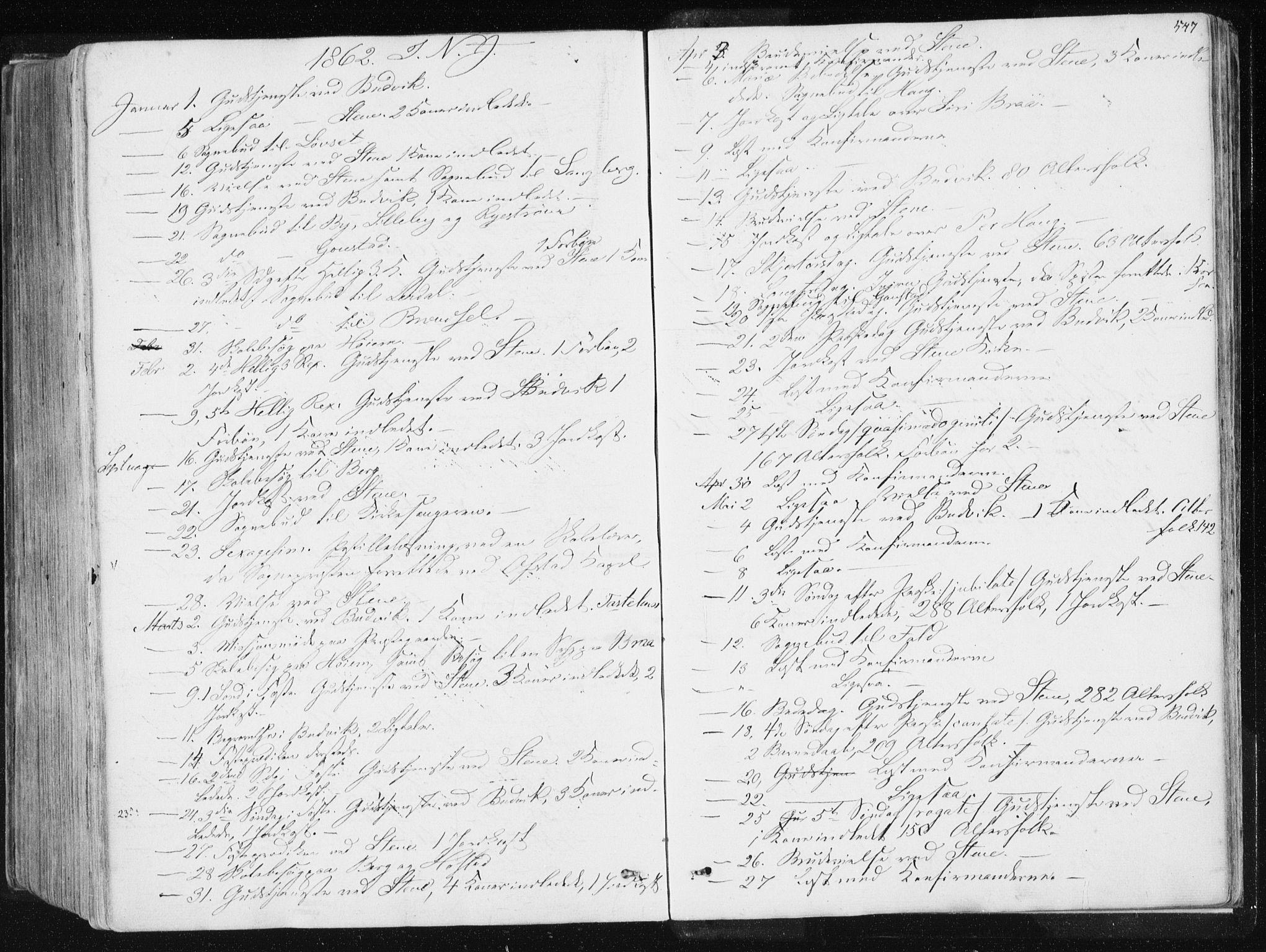 SAT, Ministerialprotokoller, klokkerbøker og fødselsregistre - Sør-Trøndelag, 612/L0377: Ministerialbok nr. 612A09, 1859-1877, s. 547