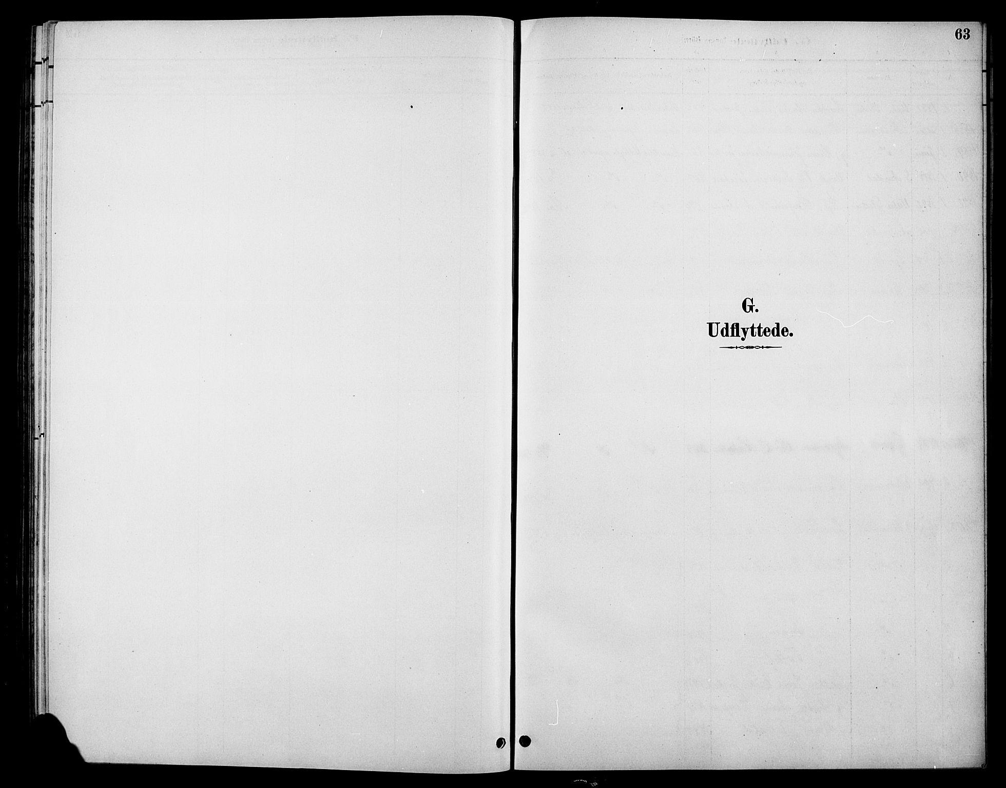 SAH, Øystre Slidre prestekontor, Klokkerbok nr. 6, 1887-1916, s. 63