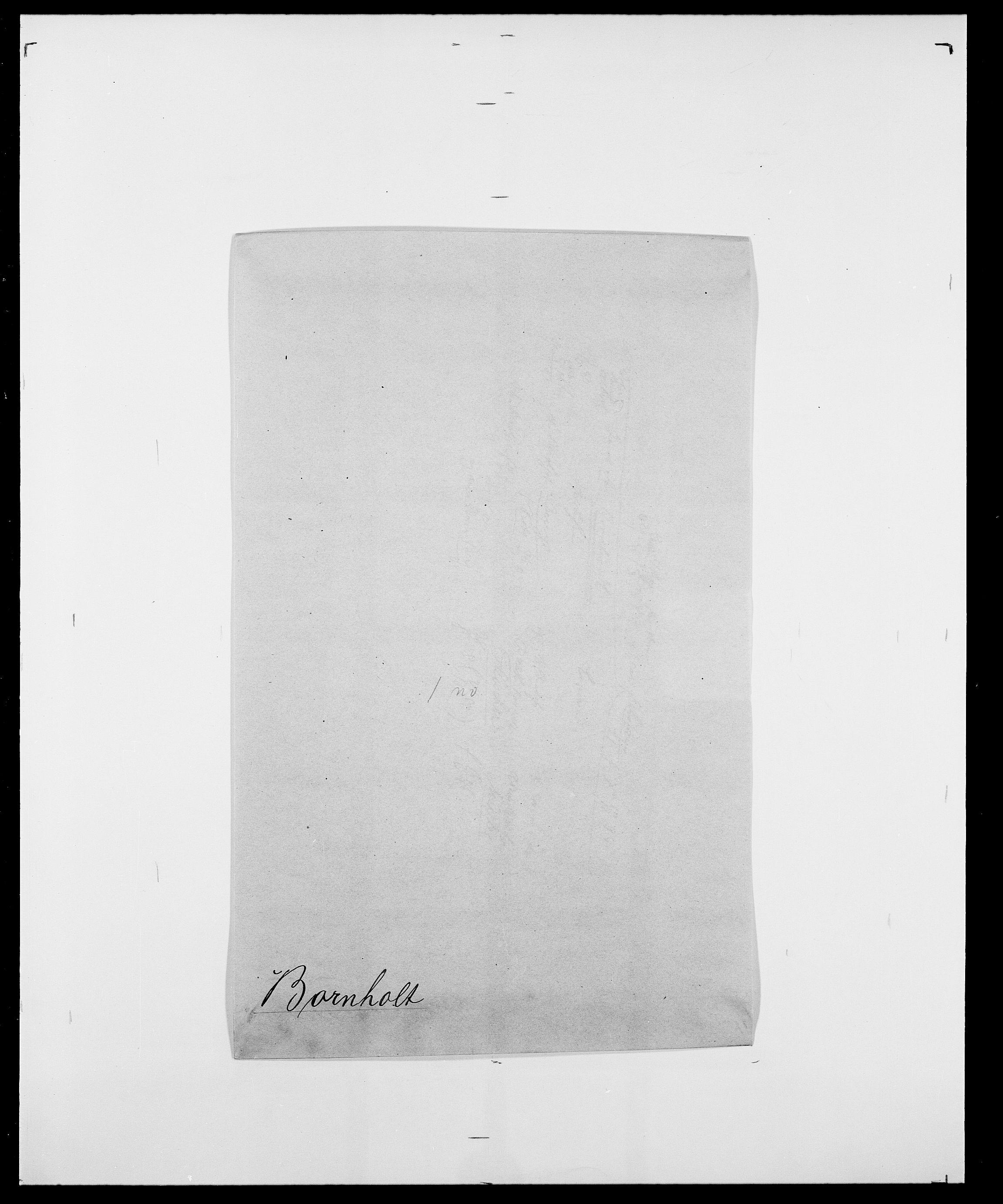 SAO, Delgobe, Charles Antoine - samling, D/Da/L0005: Boalth - Brahm, s. 299