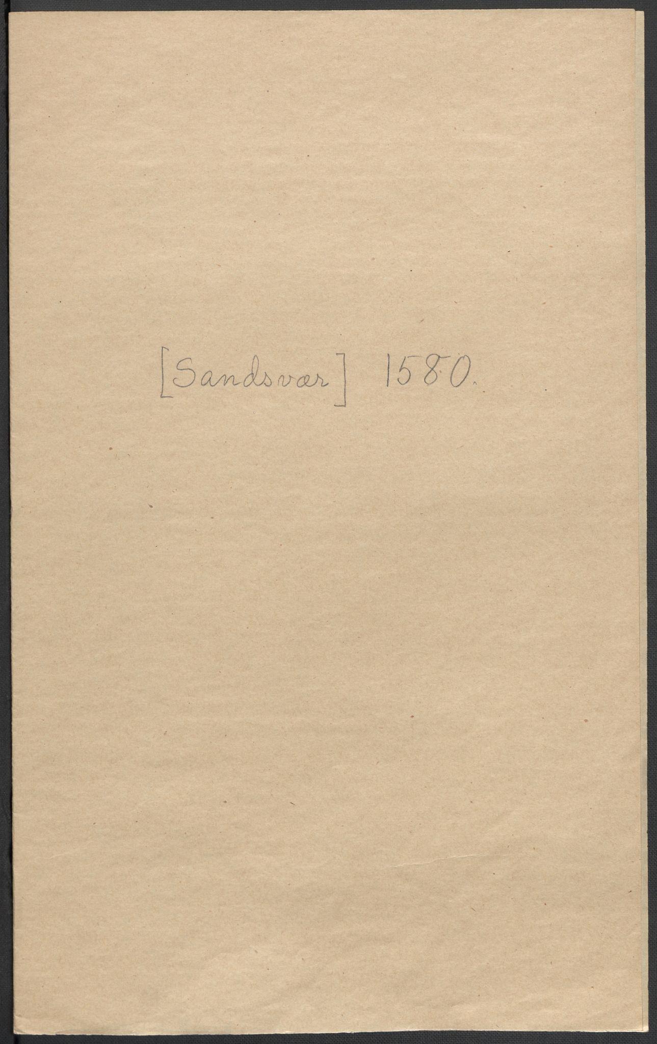 RA, Riksarkivets diplomsamling, F02/L0082: Dokumenter, 1580, s. 61