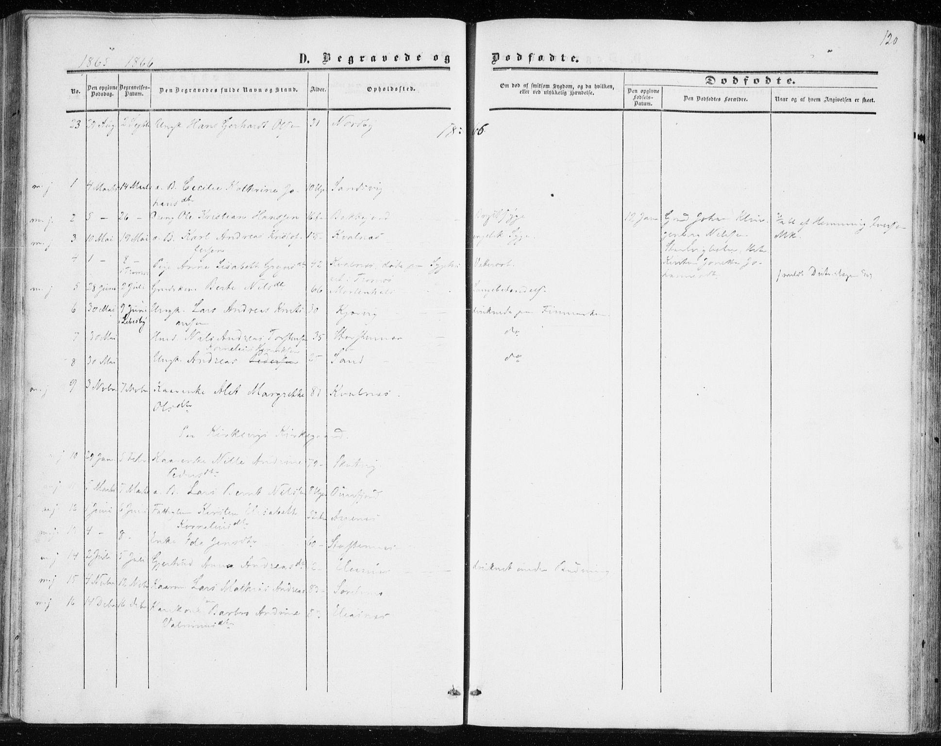 SATØ, Balsfjord sokneprestembete, Ministerialbok nr. 1, 1858-1870, s. 120