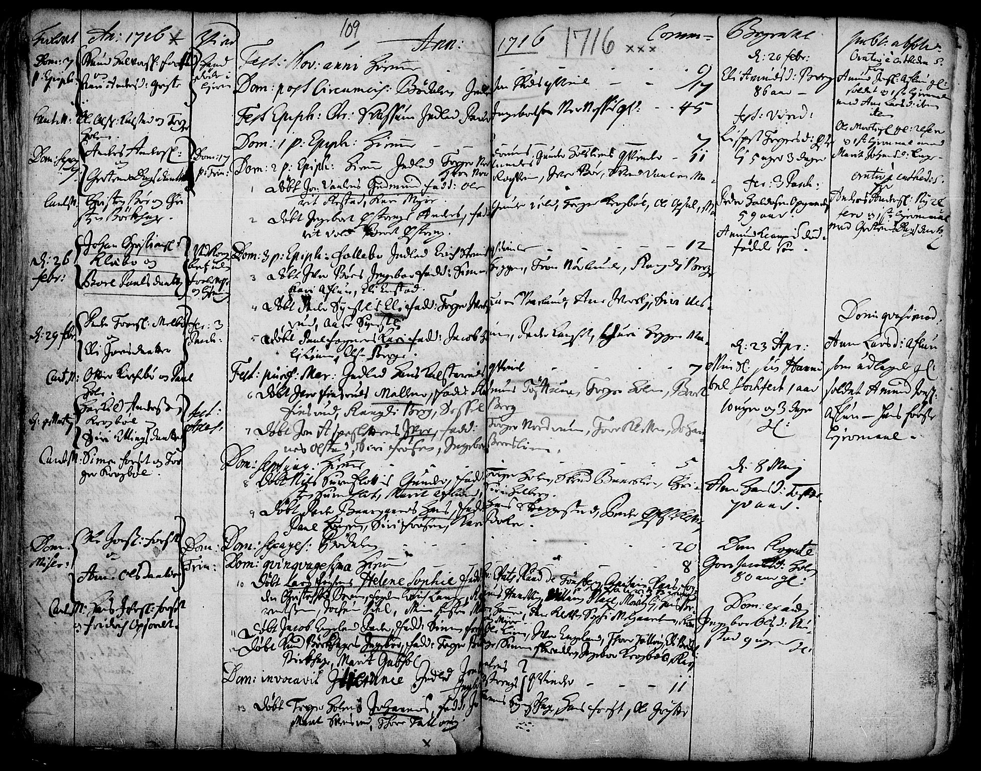 SAH, Gausdal prestekontor, Ministerialbok nr. 1, 1693-1728, s. 109