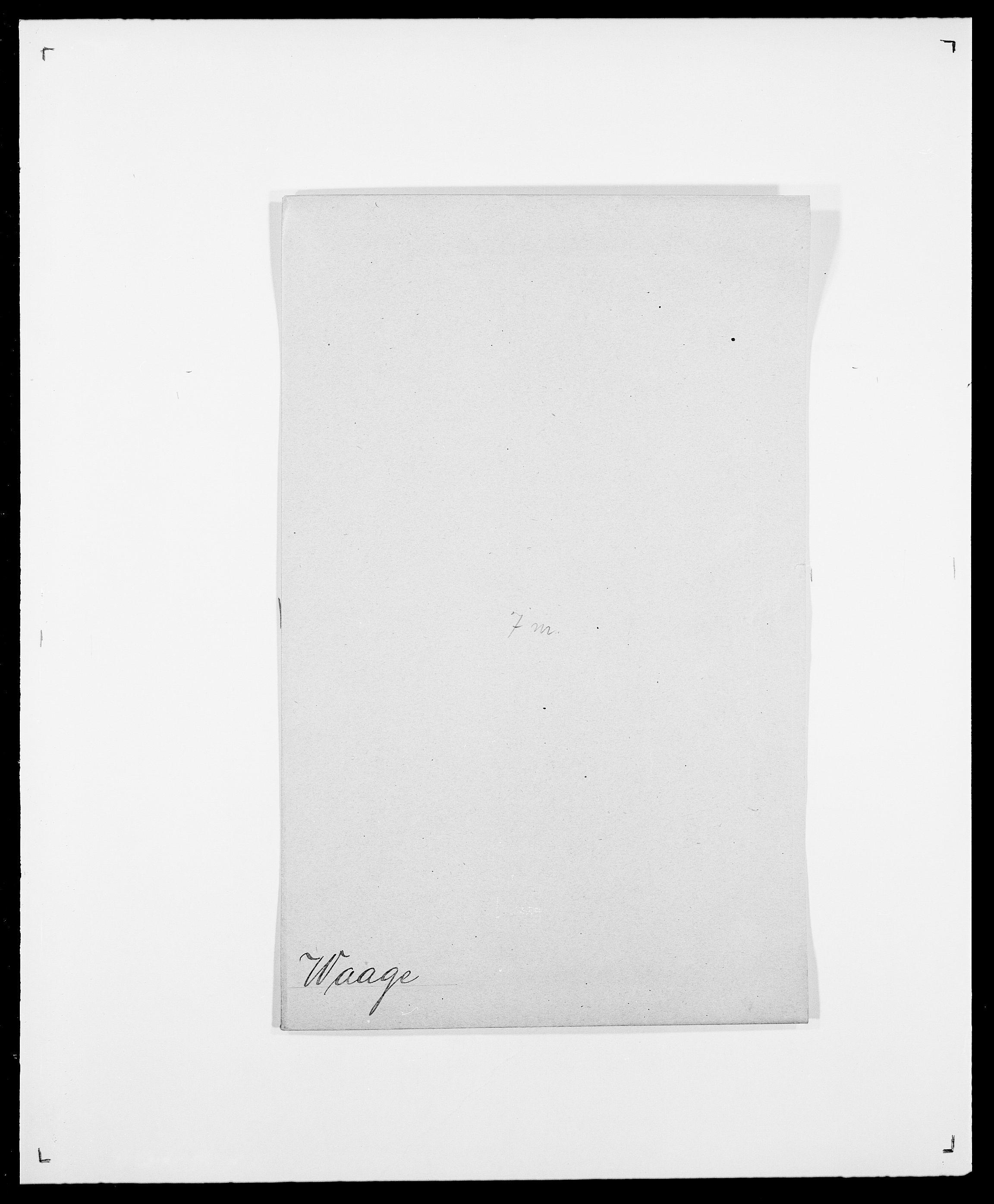 SAO, Delgobe, Charles Antoine - samling, D/Da/L0040: Usgaard - Velund, s. 46