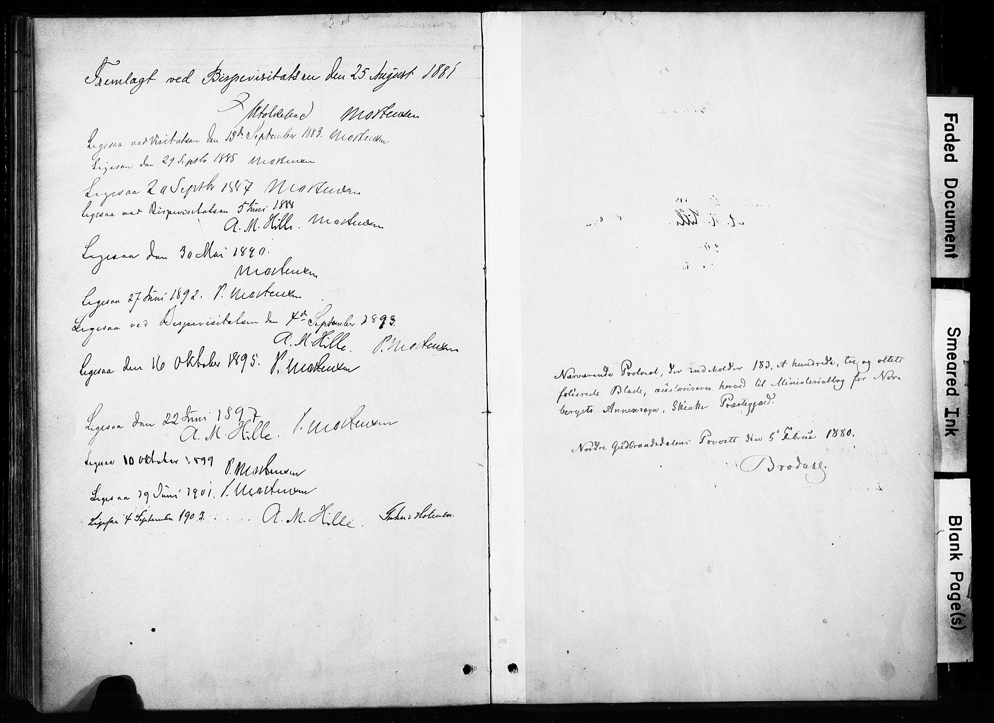 SAH, Skjåk prestekontor, Ministerialbok nr. 4, 1880-1904