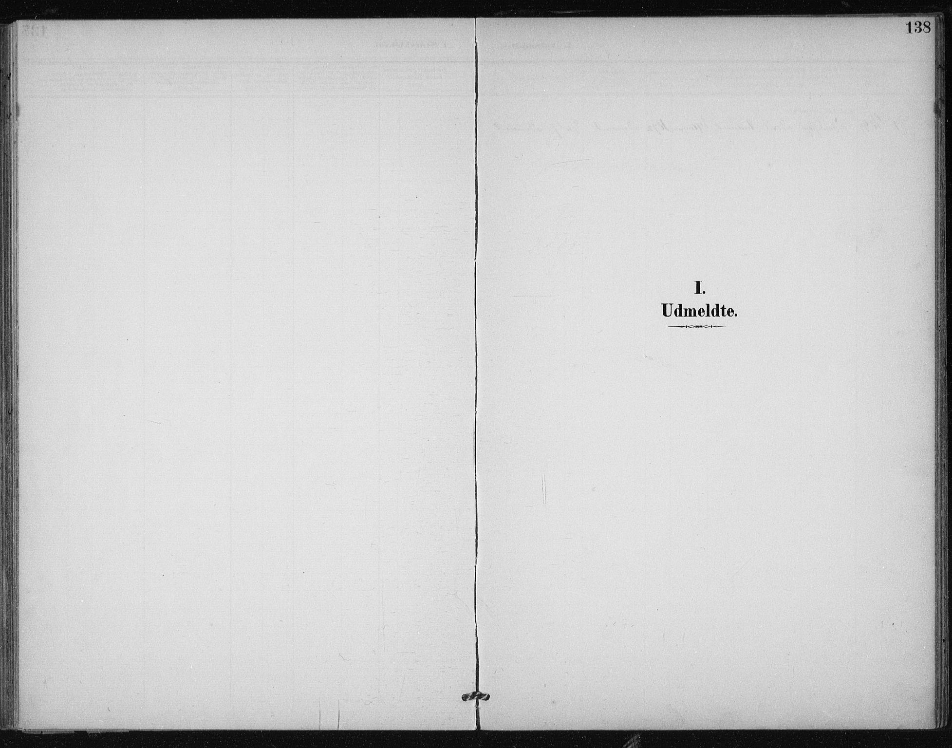 SAT, Ministerialprotokoller, klokkerbøker og fødselsregistre - Sør-Trøndelag, 612/L0380: Ministerialbok nr. 612A12, 1898-1907, s. 138