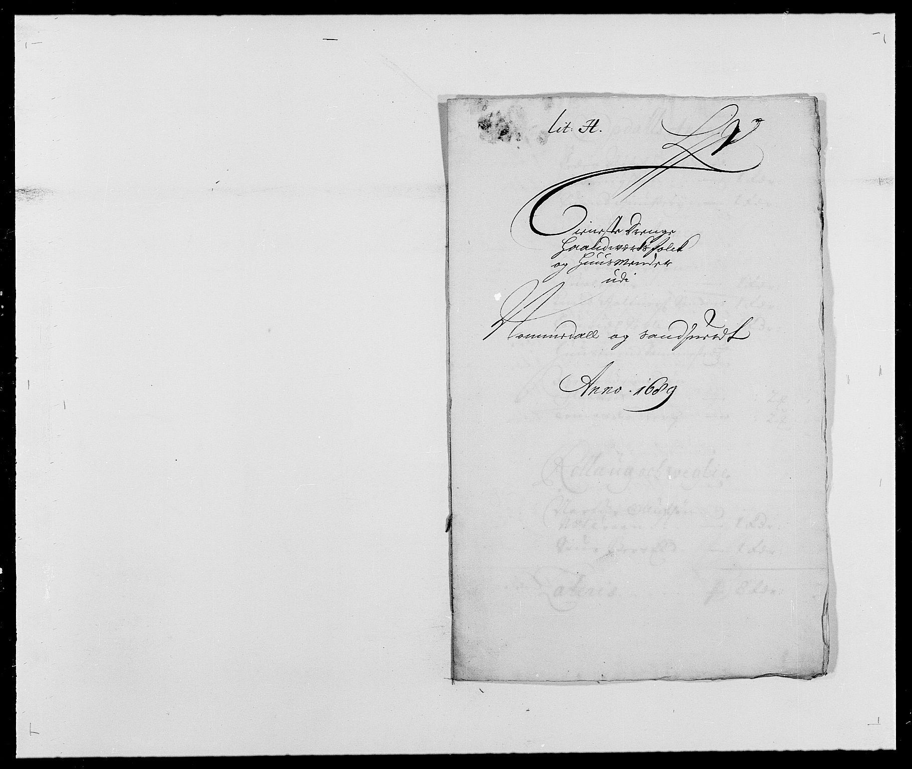 RA, Rentekammeret inntil 1814, Reviderte regnskaper, Fogderegnskap, R24/L1573: Fogderegnskap Numedal og Sandsvær, 1687-1691, s. 400
