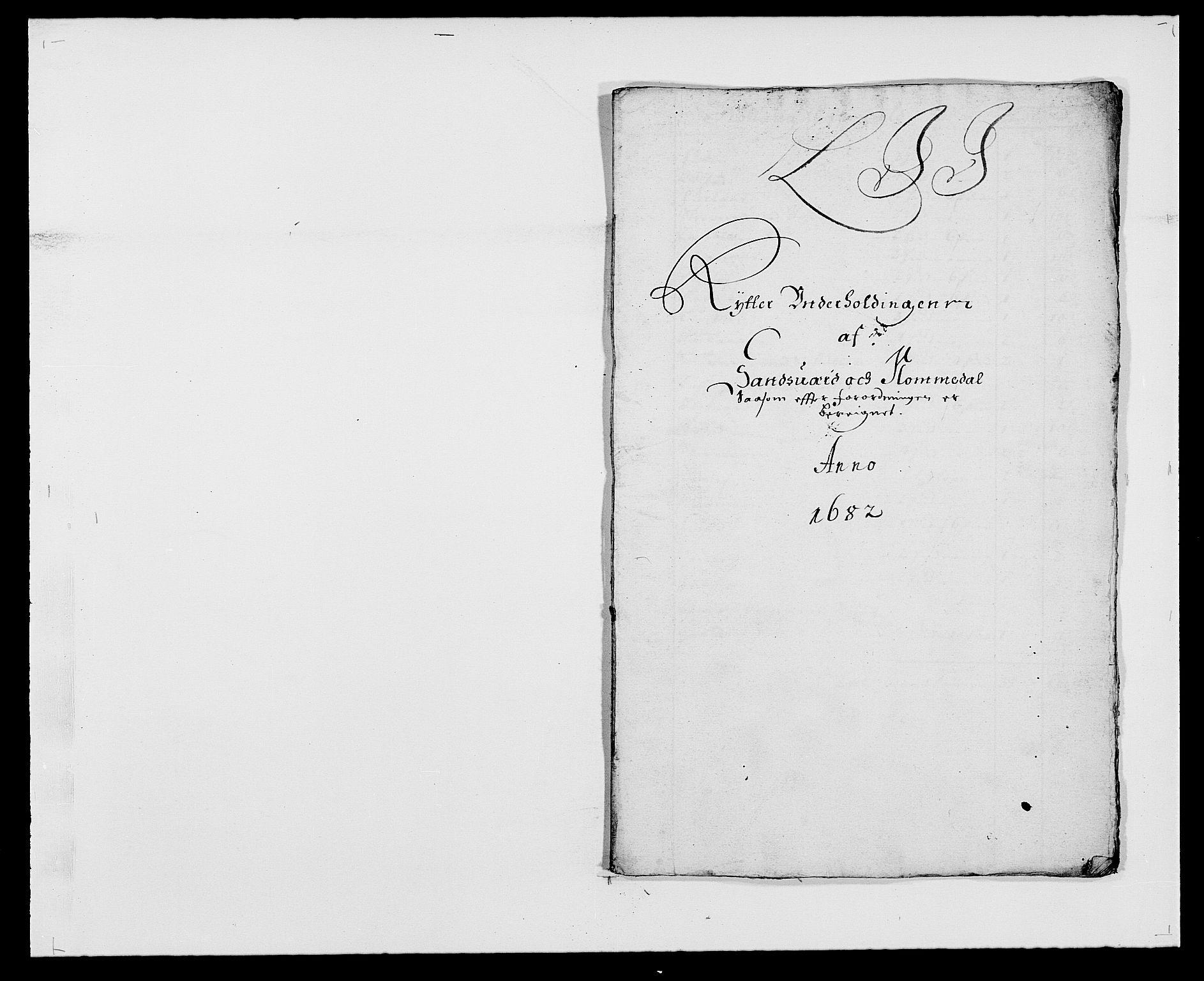RA, Rentekammeret inntil 1814, Reviderte regnskaper, Fogderegnskap, R24/L1570: Fogderegnskap Numedal og Sandsvær, 1679-1686, s. 169