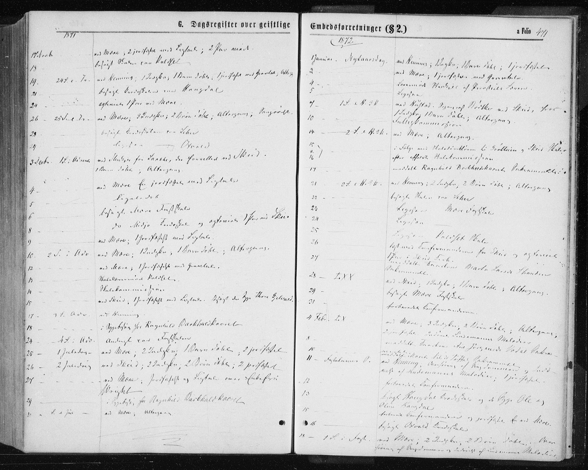 SAT, Ministerialprotokoller, klokkerbøker og fødselsregistre - Nord-Trøndelag, 735/L0345: Ministerialbok nr. 735A08 /1, 1863-1872, s. 471
