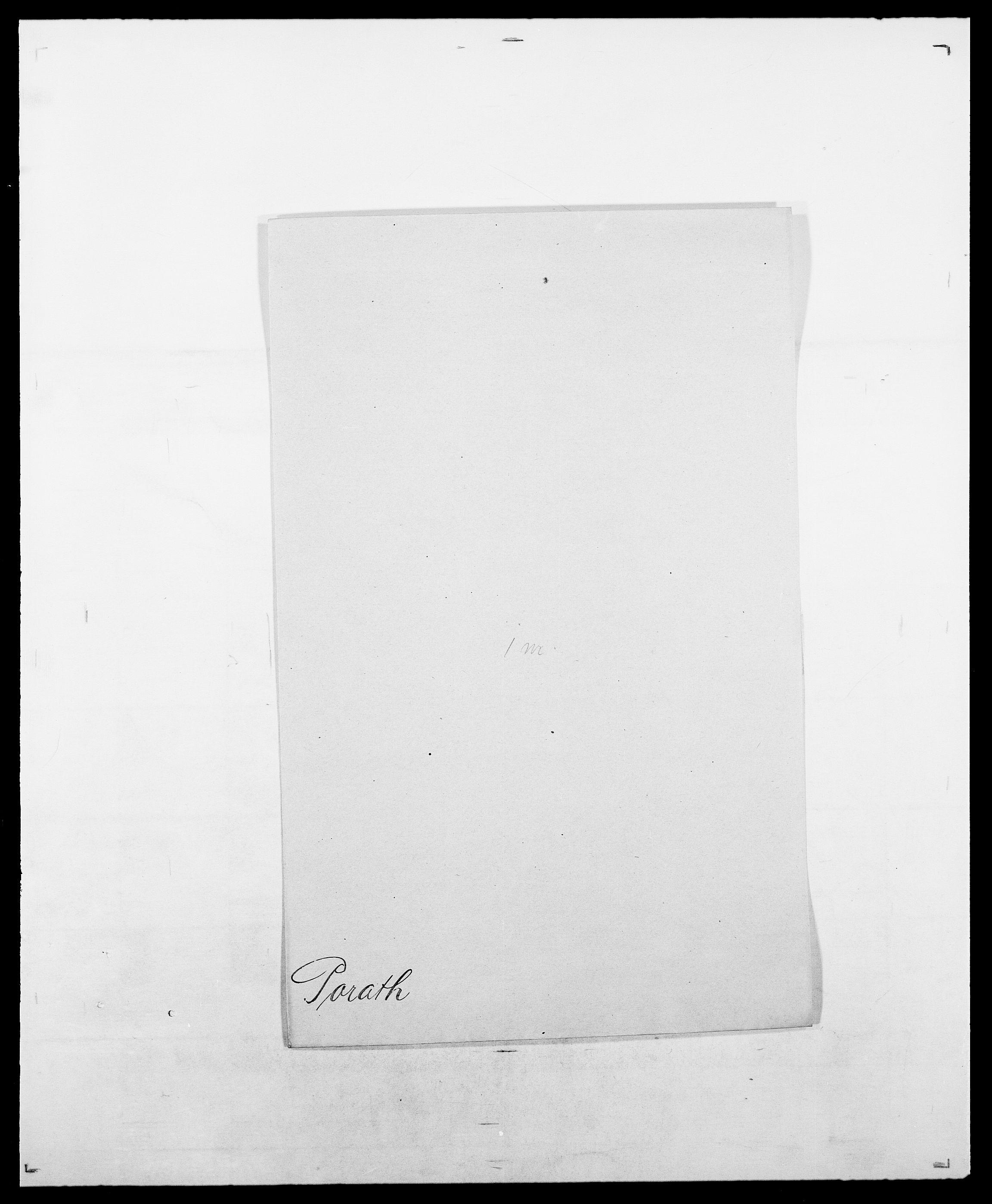 SAO, Delgobe, Charles Antoine - samling, D/Da/L0031: de Place - Raaum, s. 233