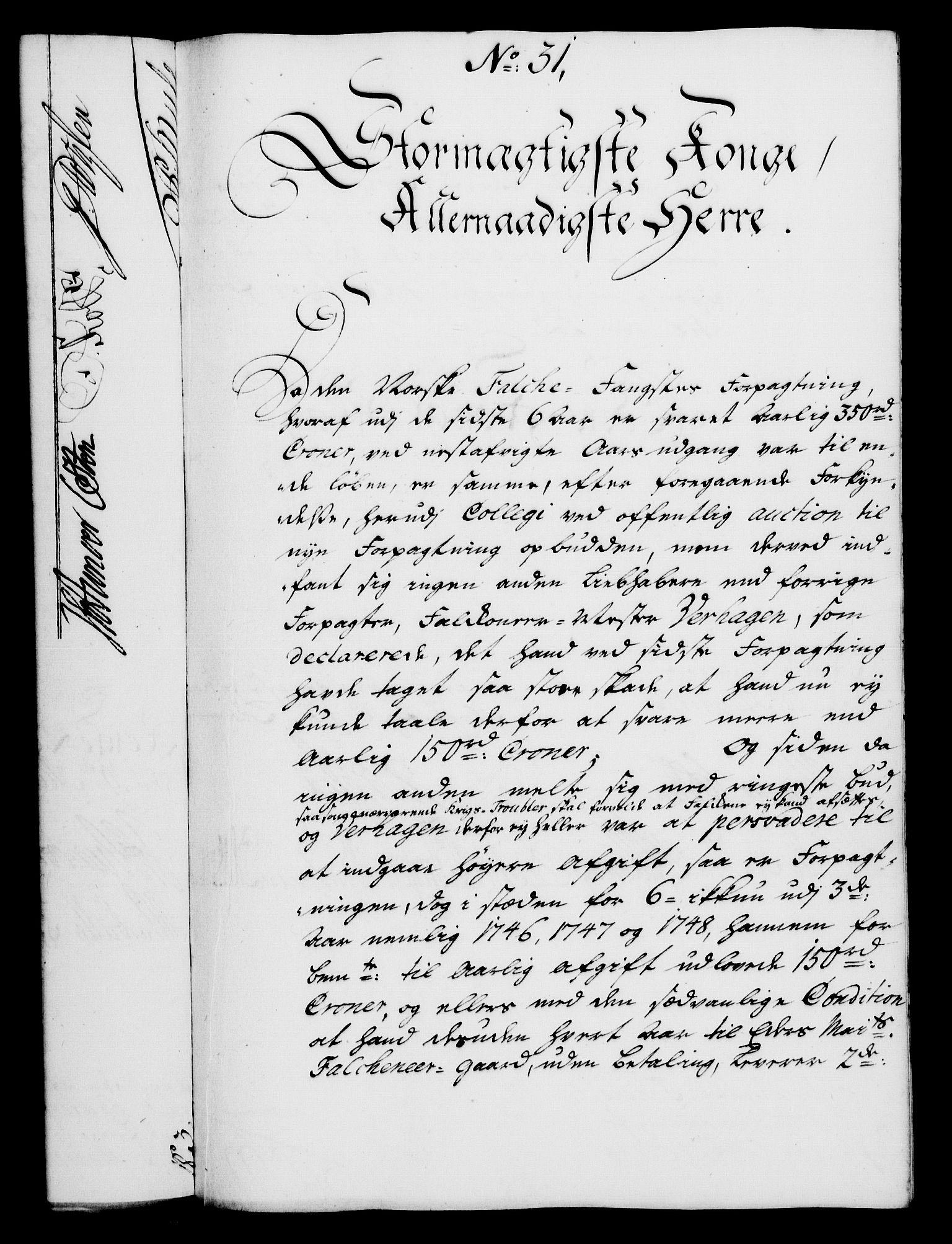 RA, Rentekammeret, Kammerkanselliet, G/Gf/Gfa/L0028: Norsk relasjons- og resolusjonsprotokoll (merket RK 52.28), 1745-1746, s. 737