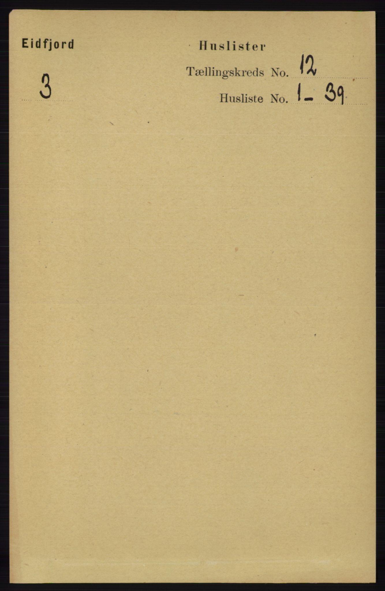 RA, Folketelling 1891 for 1233 Ulvik herred, 1891, s. 3602