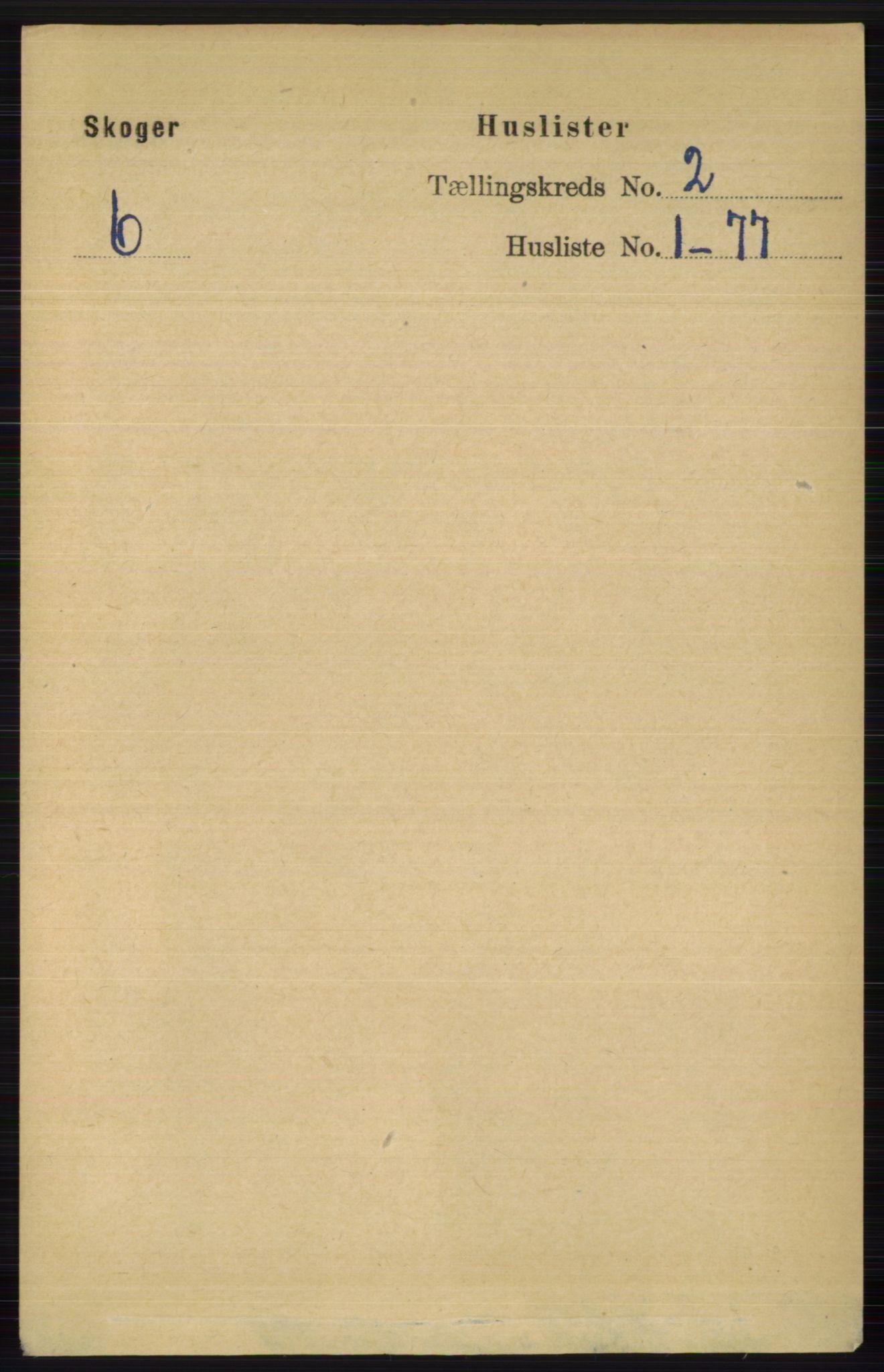 RA, Folketelling 1891 for 0712 Skoger herred, 1891, s. 776