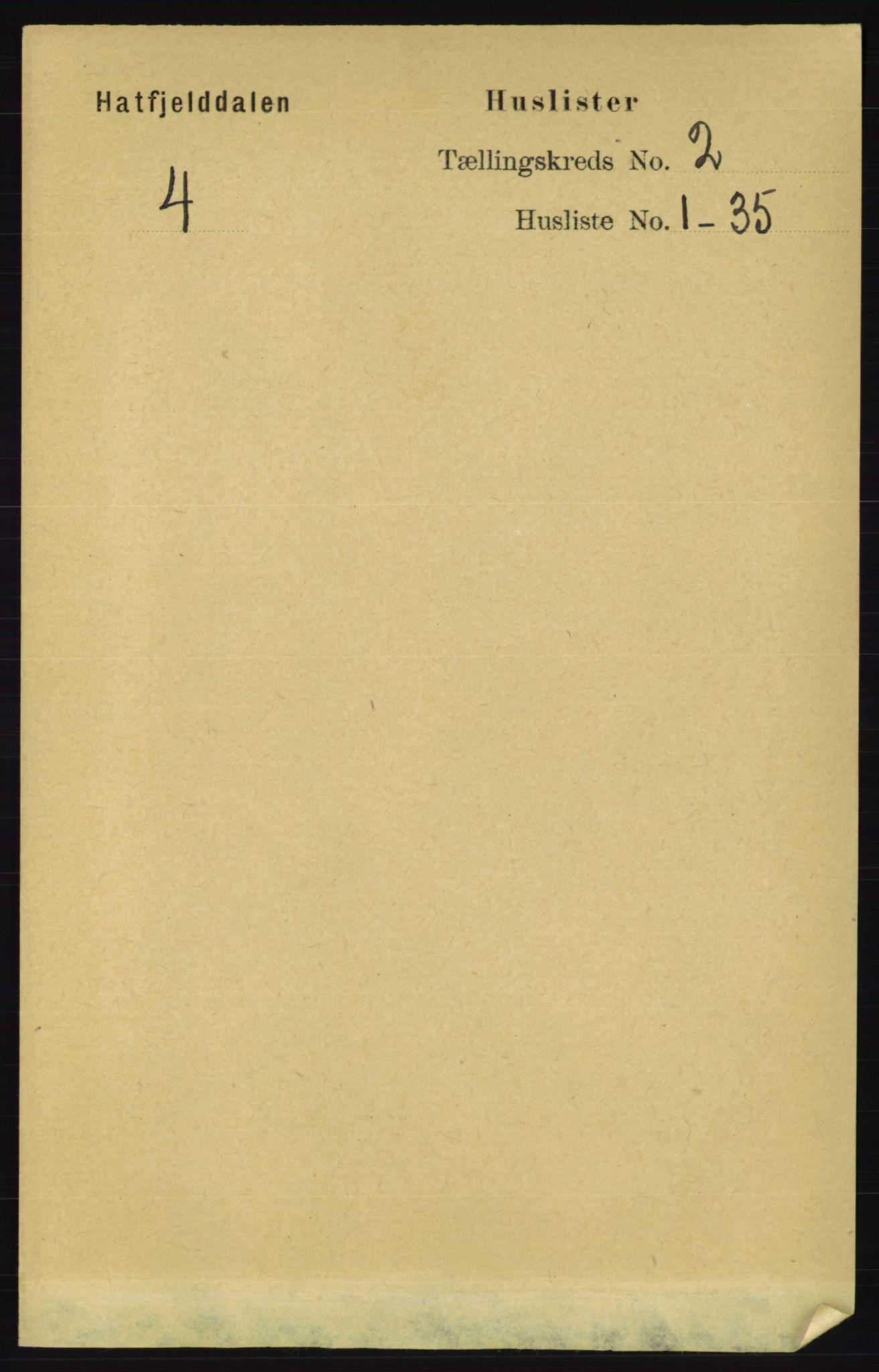 RA, Folketelling 1891 for 1826 Hattfjelldal herred, 1891, s. 250