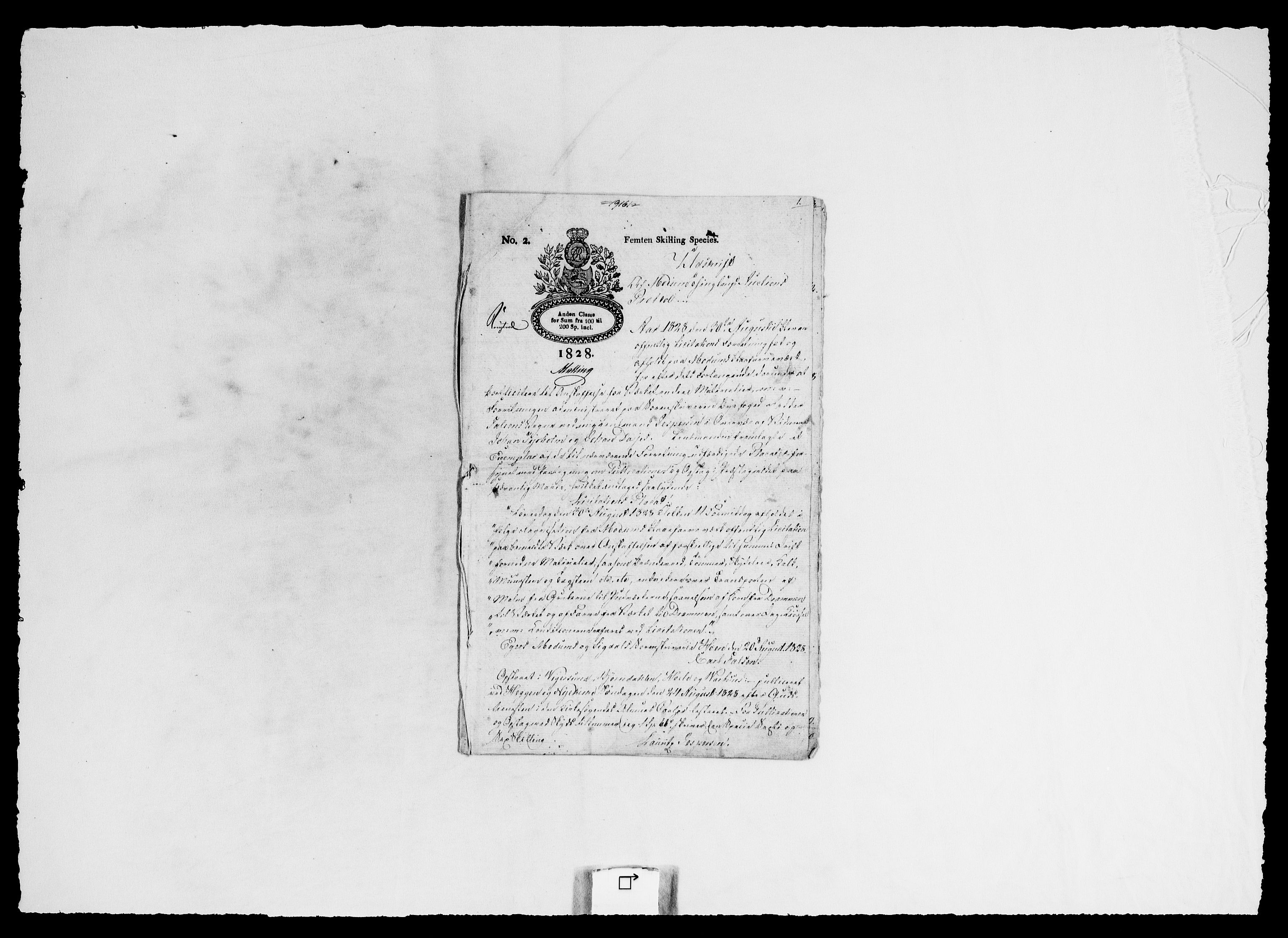 RA, Modums Blaafarveværk, G/Ga/L0063, 1827-1849, s. 82