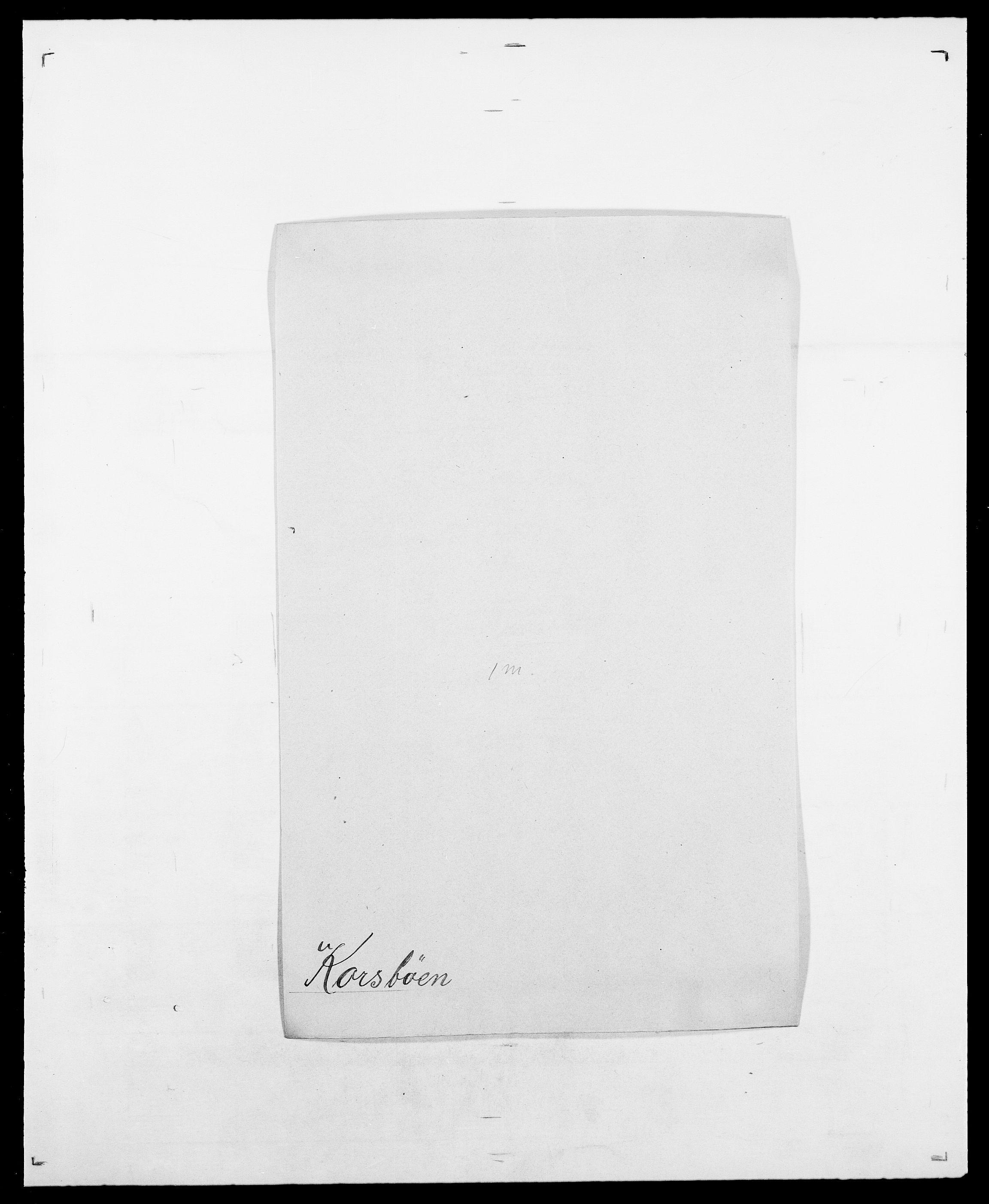 SAO, Delgobe, Charles Antoine - samling, D/Da/L0021: Klagenberg - Kristoft, s. 578