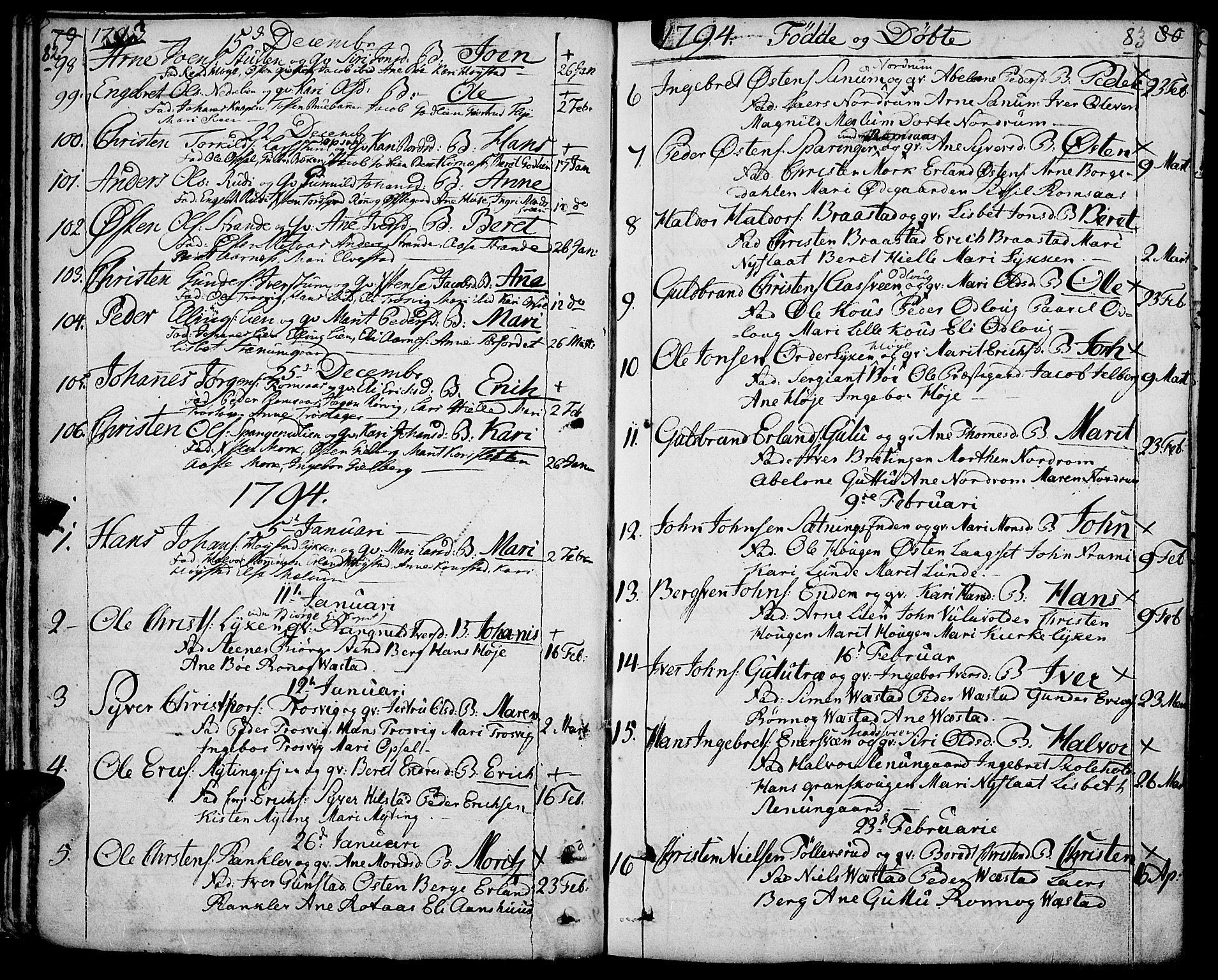 SAH, Ringebu prestekontor, Ministerialbok nr. 3, 1781-1820, s. 82-83