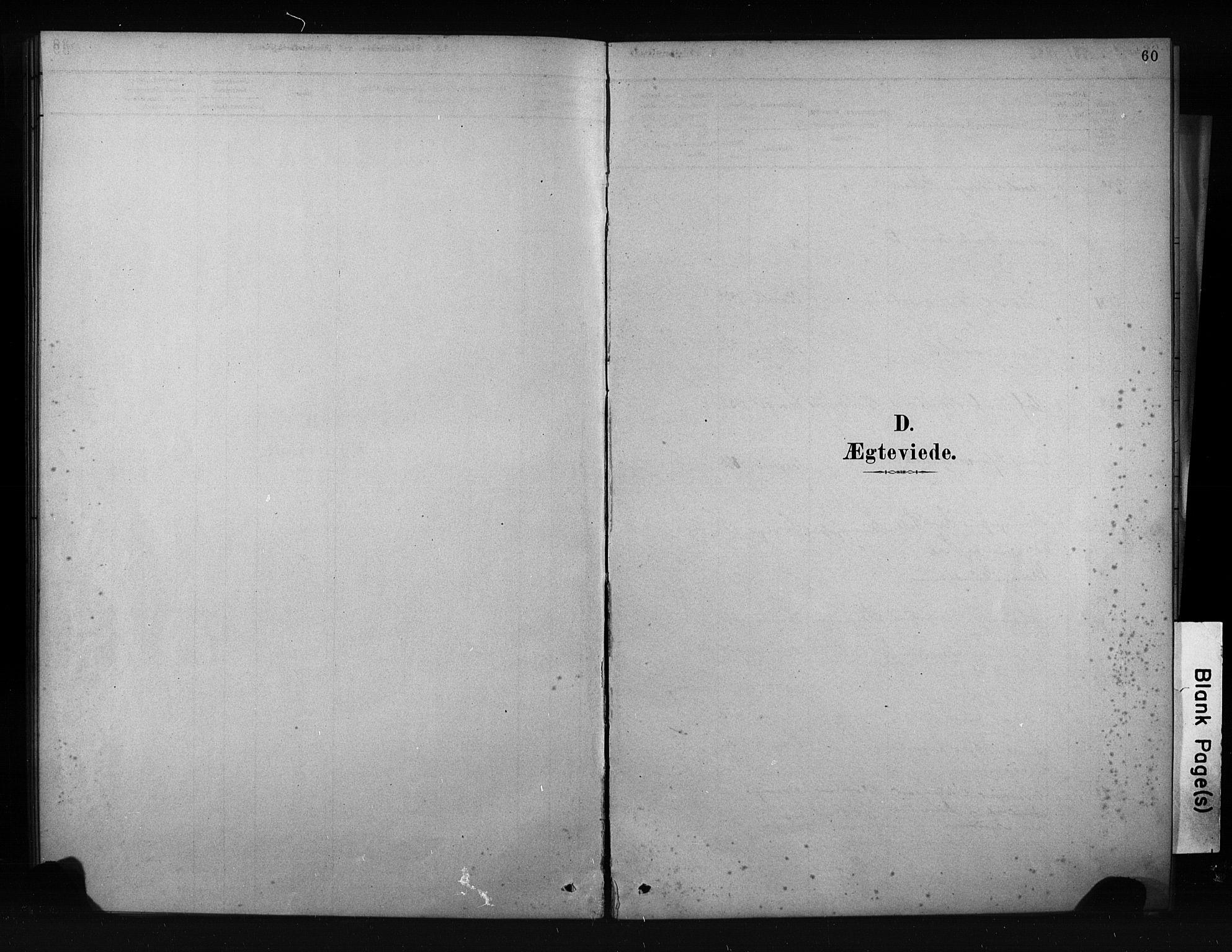 SAKO, Porsgrunn kirkebøker , F/Fa/L0009: Ministerialbok nr. 9, 1878-1923, s. 60
