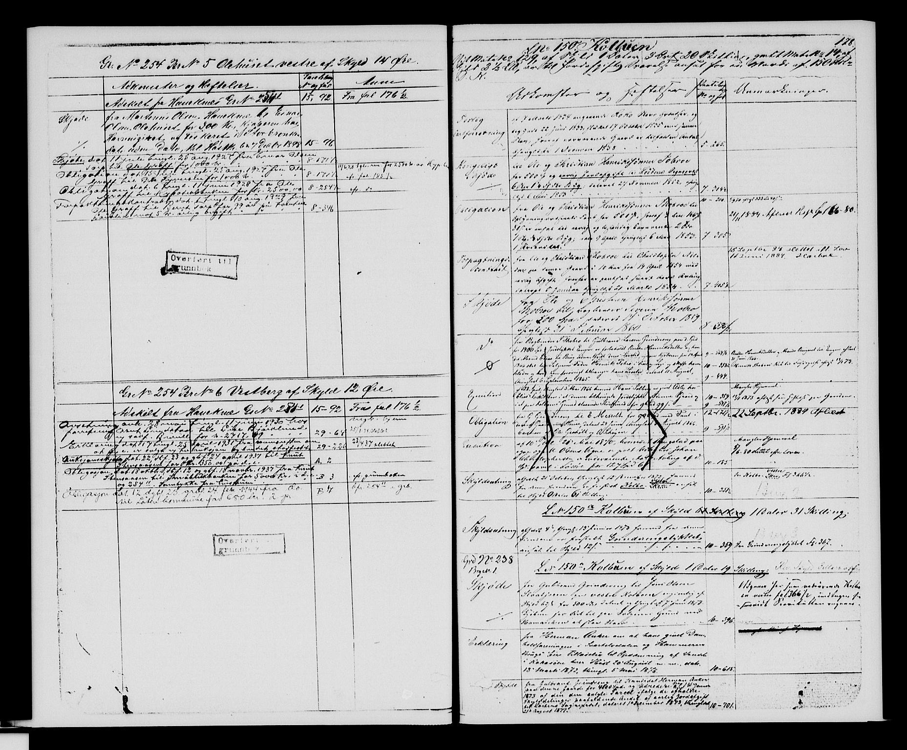 SAH, Sør-Hedmark sorenskriveri, H/Ha/Hac/Hacc/L0001: Panteregister nr. 3.1, 1855-1943, s. 178
