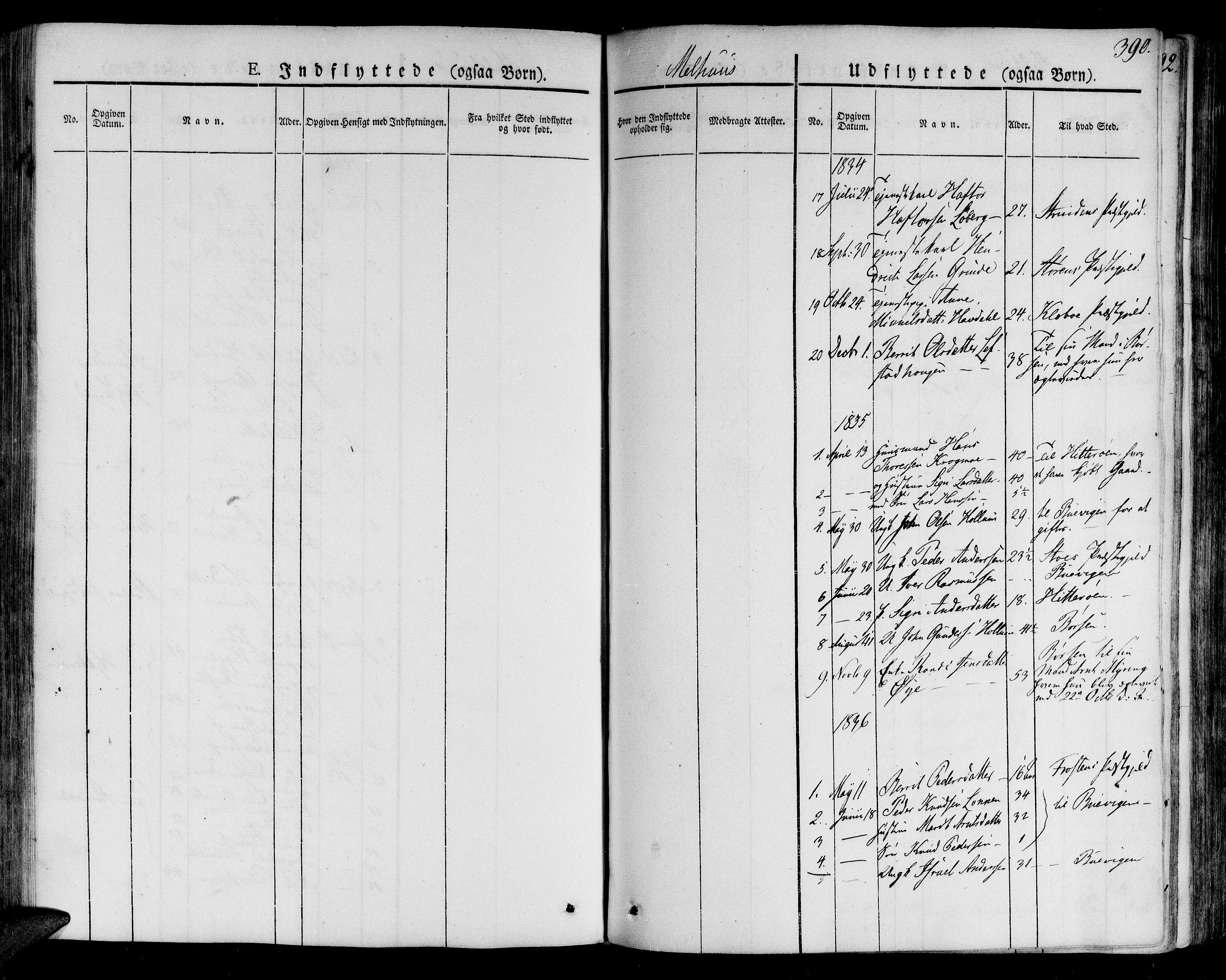 SAT, Ministerialprotokoller, klokkerbøker og fødselsregistre - Sør-Trøndelag, 691/L1070: Ministerialbok nr. 691A05 /1, 1826-1841, s. 390