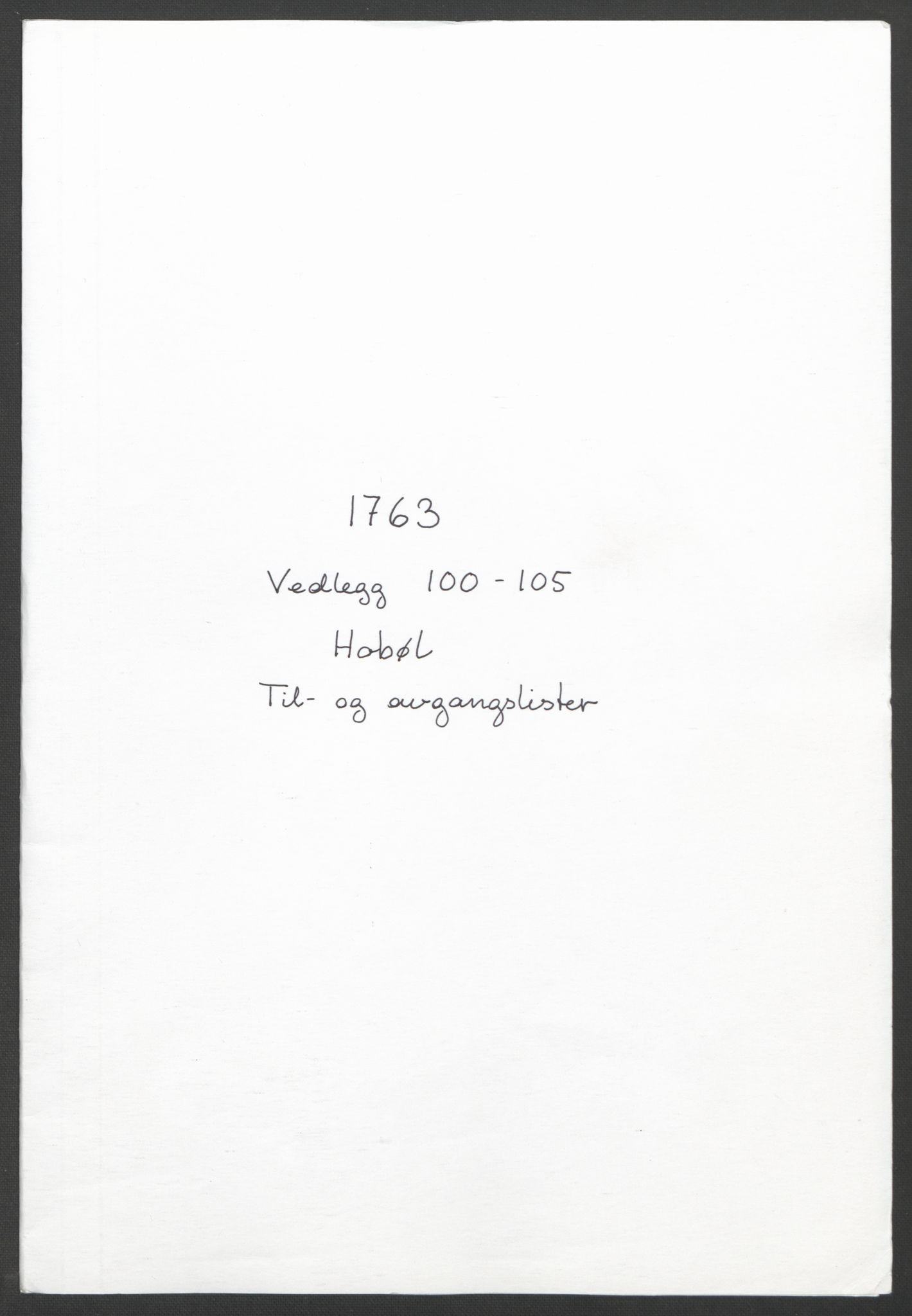 RA, Rentekammeret inntil 1814, Reviderte regnskaper, Fogderegnskap, R04/L0261: Ekstraskatten Moss, Onsøy, Tune, Veme og Åbygge, 1763, s. 266