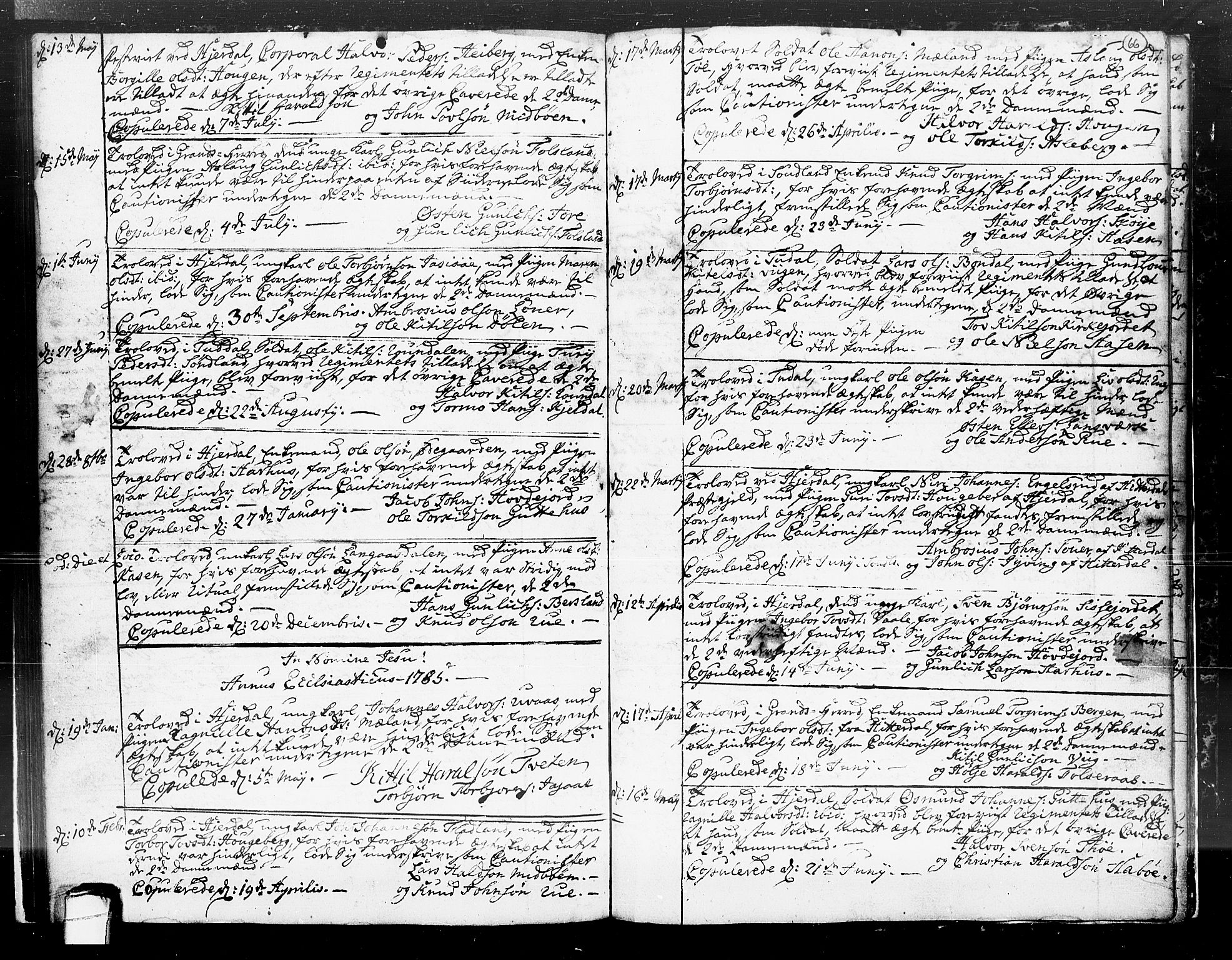 SAKO, Hjartdal kirkebøker, F/Fa/L0004: Ministerialbok nr. I 4, 1727-1795, s. 66