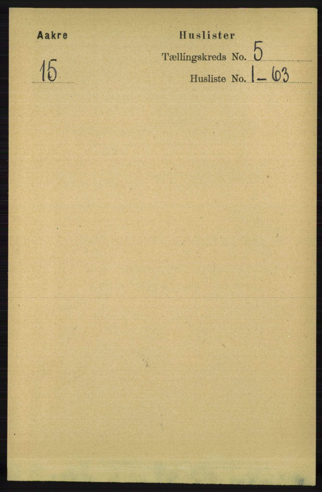 RA, Folketelling 1891 for 1150 Skudenes herred, 1891, s. 5165