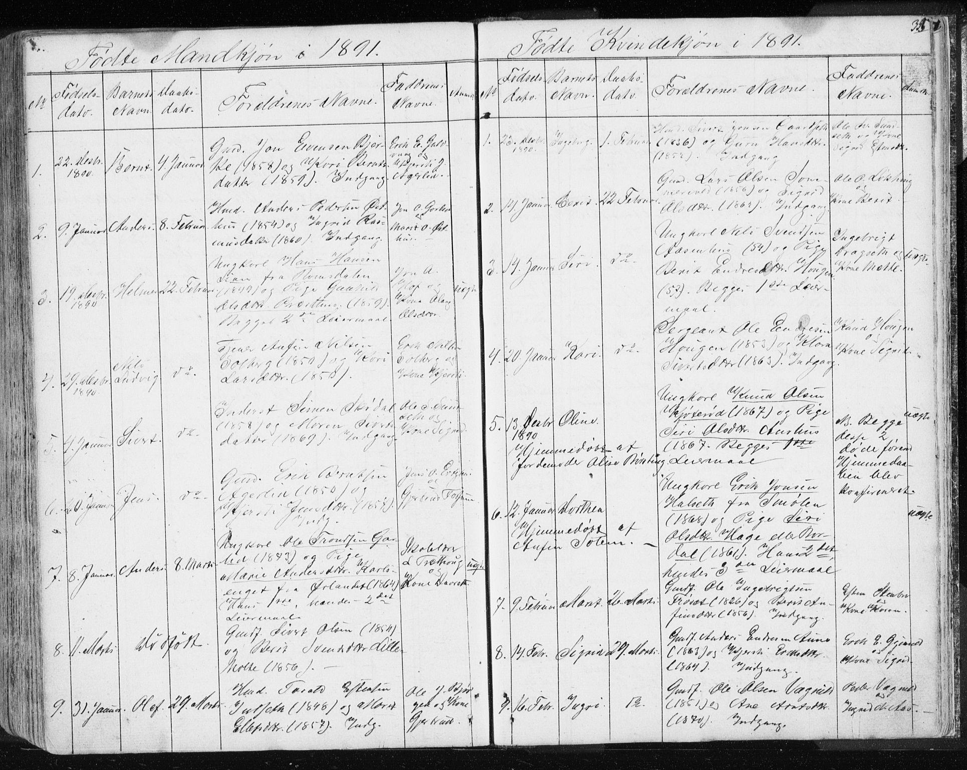 SAT, Ministerialprotokoller, klokkerbøker og fødselsregistre - Sør-Trøndelag, 689/L1043: Klokkerbok nr. 689C02, 1816-1892, s. 355