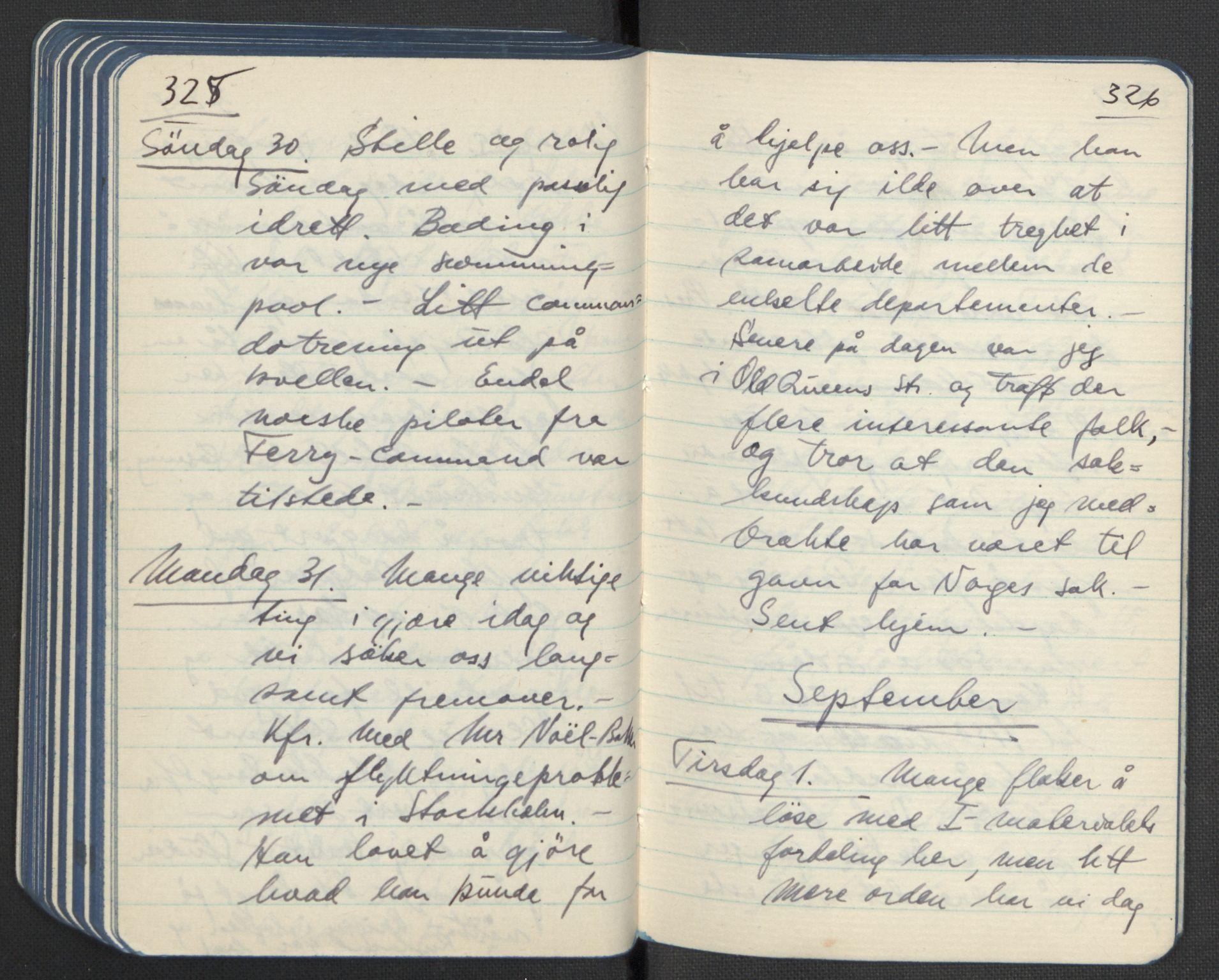 RA, Tronstad, Leif, F/L0001: Dagbøker, 1941-1945, s. 247
