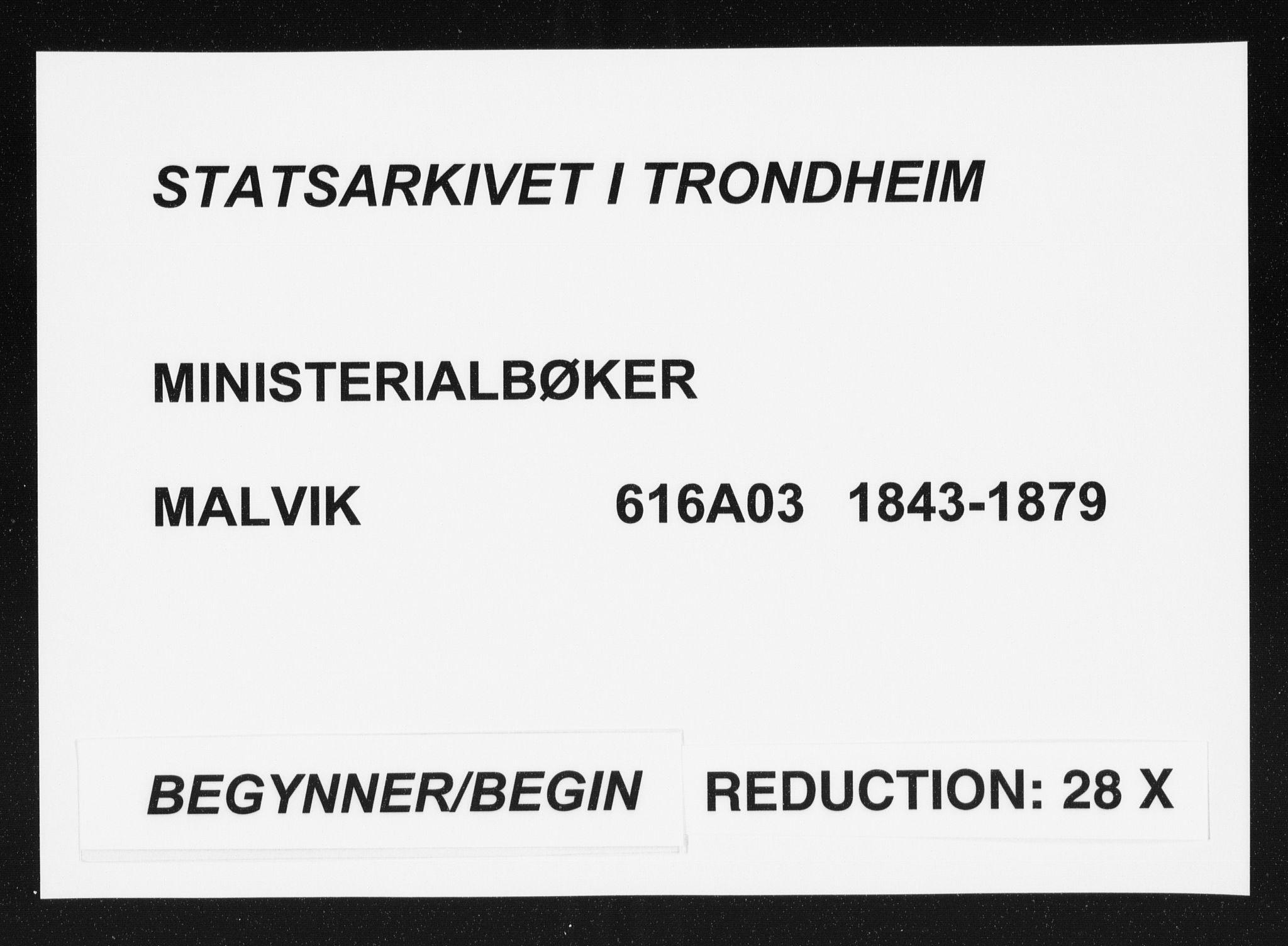 SAT, Ministerialprotokoller, klokkerbøker og fødselsregistre - Sør-Trøndelag, 616/L0406: Ministerialbok nr. 616A03, 1843-1879