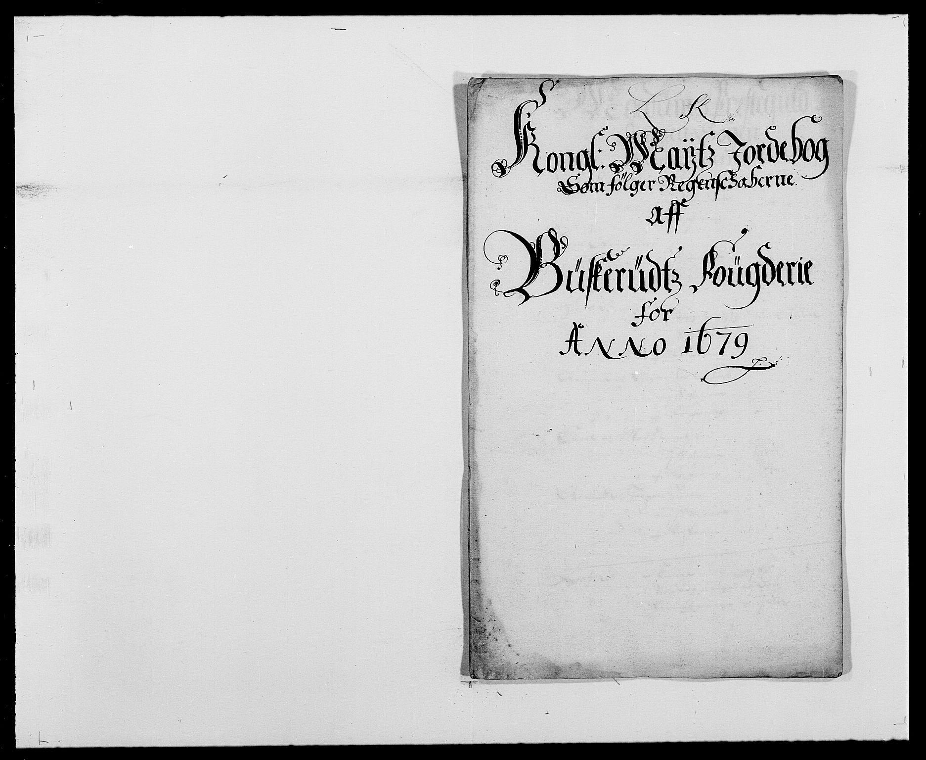 RA, Rentekammeret inntil 1814, Reviderte regnskaper, Fogderegnskap, R25/L1674: Fogderegnskap Buskerud, 1678-1681, s. 202