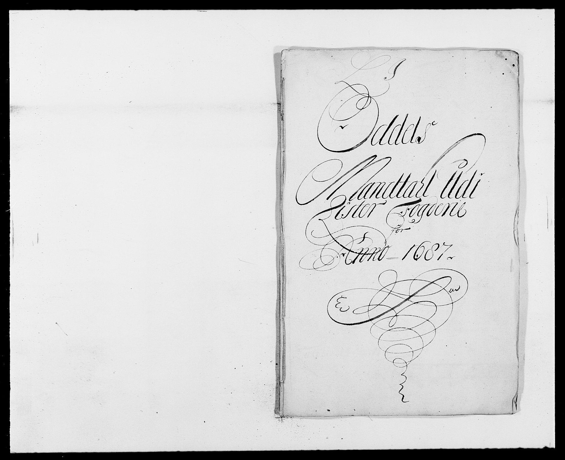 RA, Rentekammeret inntil 1814, Reviderte regnskaper, Fogderegnskap, R41/L2534: Fogderegnskap Lista, 1686-1688, s. 160