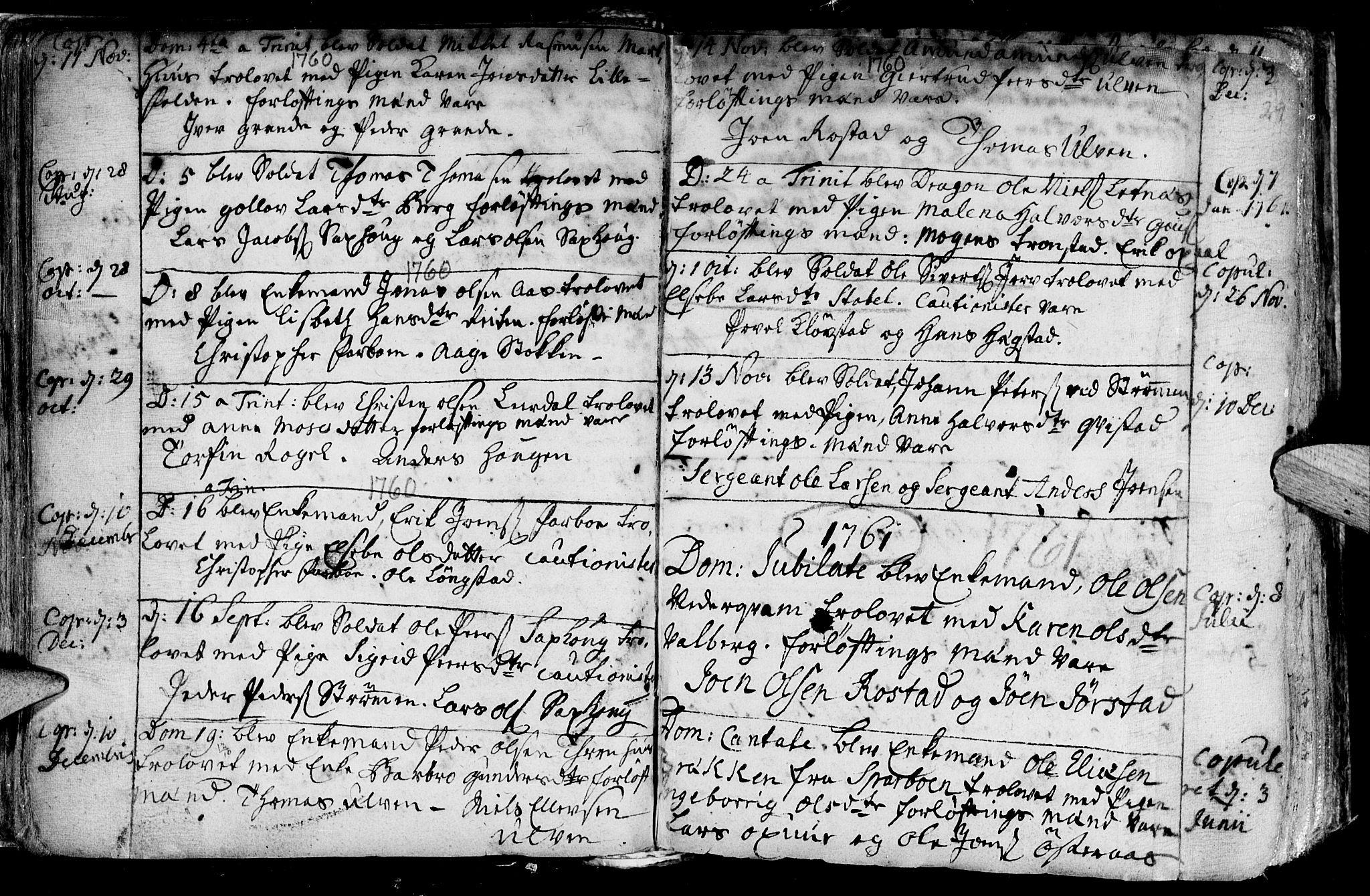 SAT, Ministerialprotokoller, klokkerbøker og fødselsregistre - Nord-Trøndelag, 730/L0272: Ministerialbok nr. 730A01, 1733-1764, s. 29