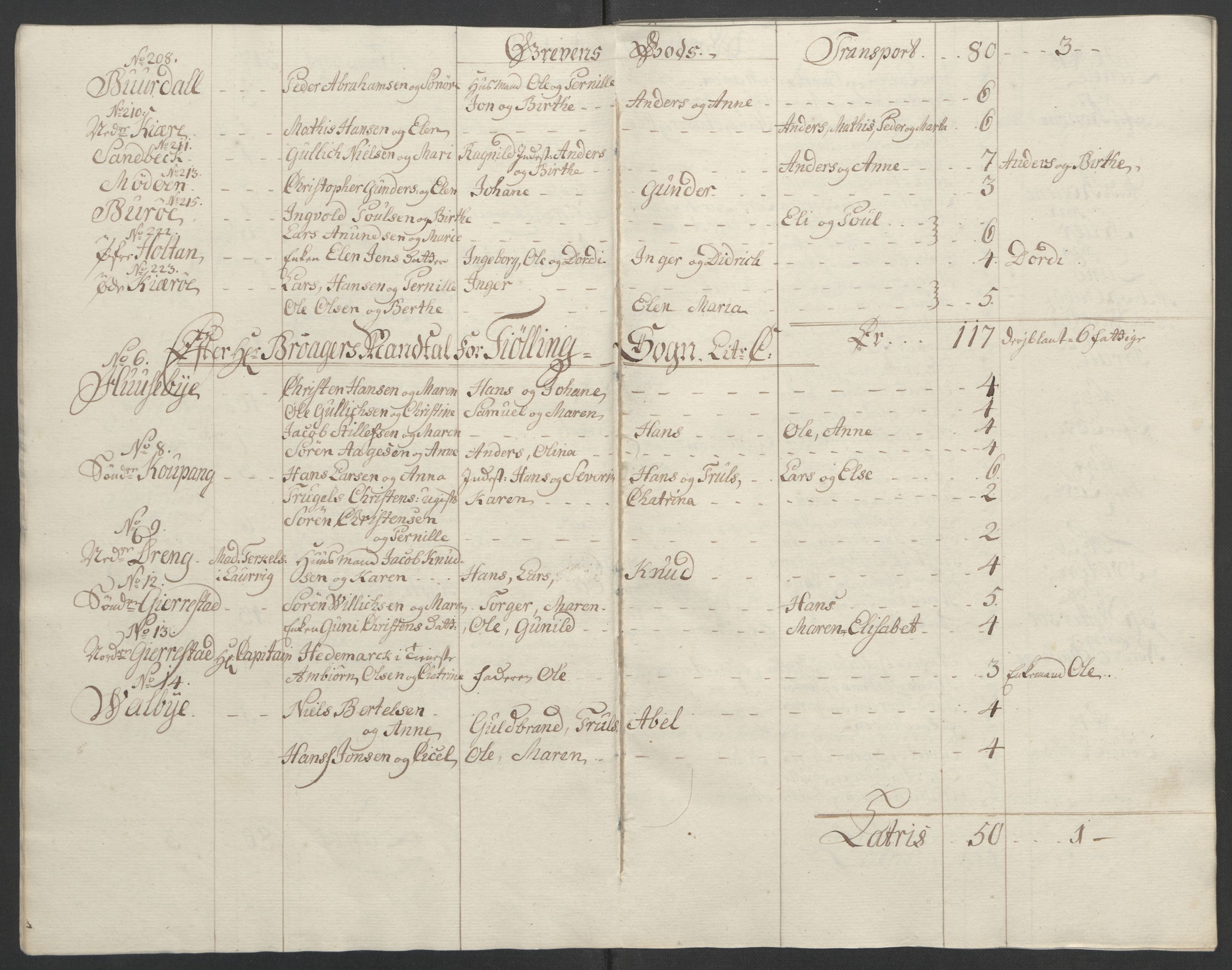 RA, Rentekammeret inntil 1814, Reviderte regnskaper, Fogderegnskap, R33/L2033: Ekstraskatten Larvik grevskap, 1762-1764, s. 498