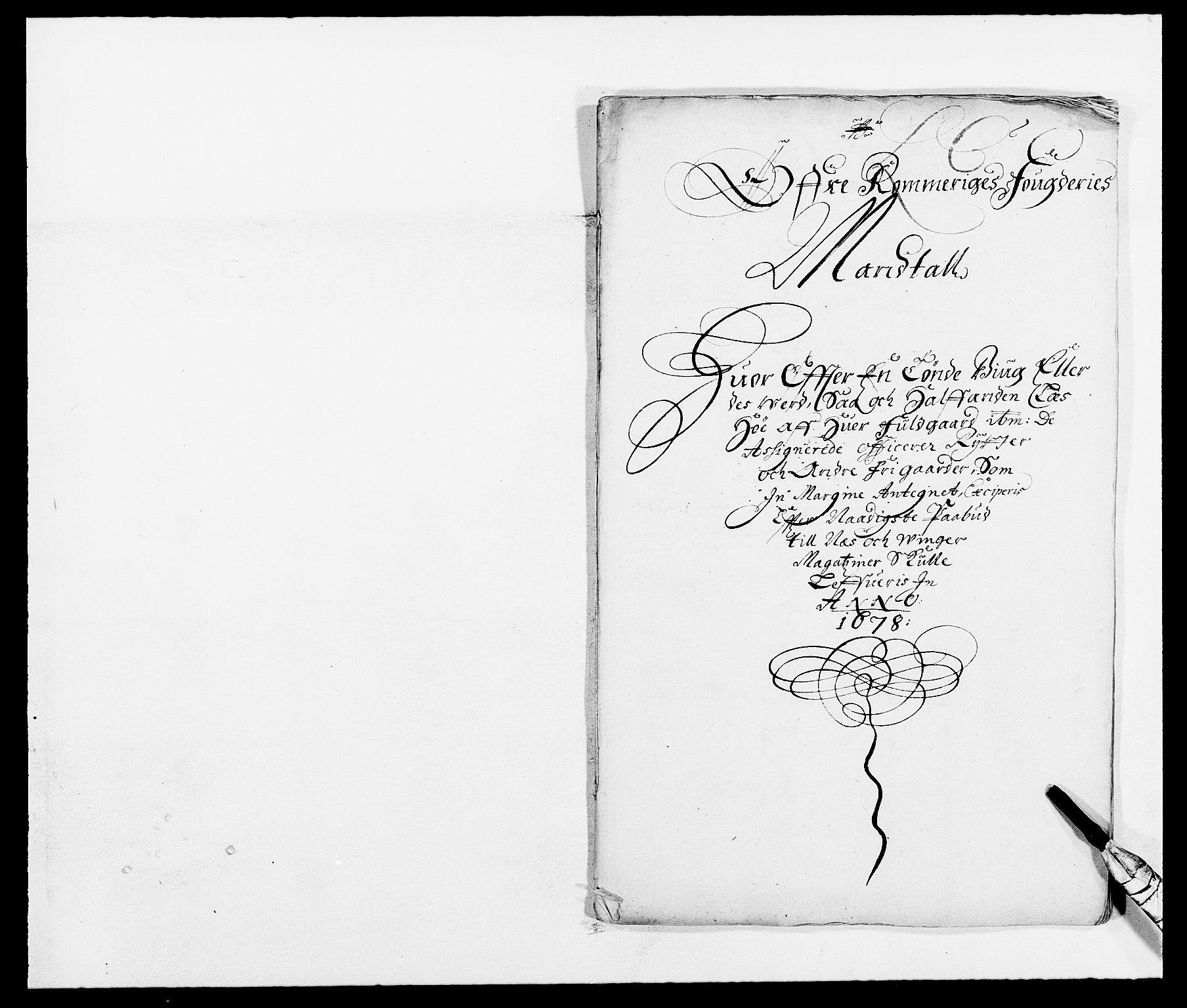 RA, Rentekammeret inntil 1814, Reviderte regnskaper, Fogderegnskap, R12/L0693: Fogderegnskap Øvre Romerike, 1678-1679, s. 115