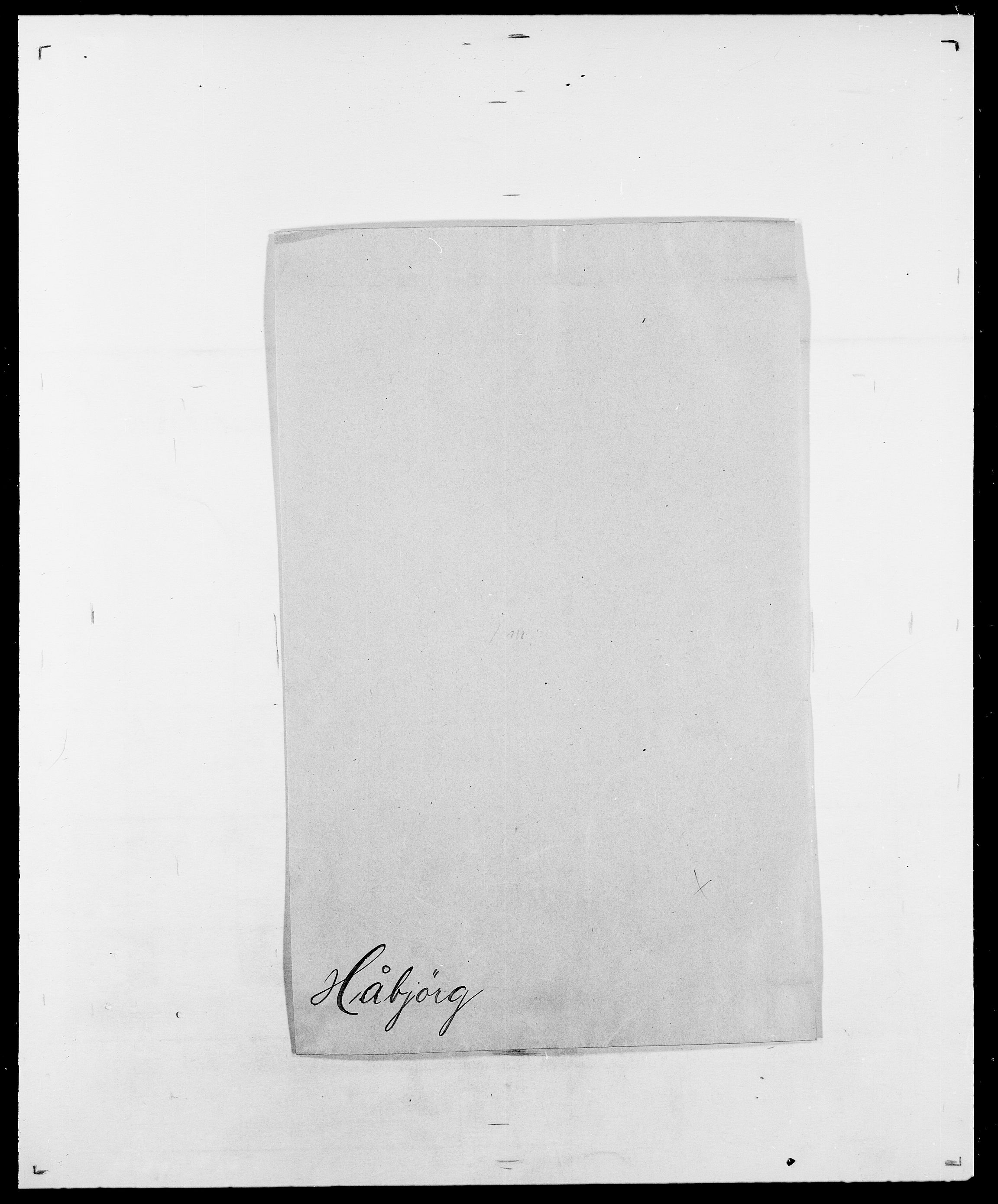 SAO, Delgobe, Charles Antoine - samling, D/Da/L0015: Grodtshilling - Halvorsæth, s. 571