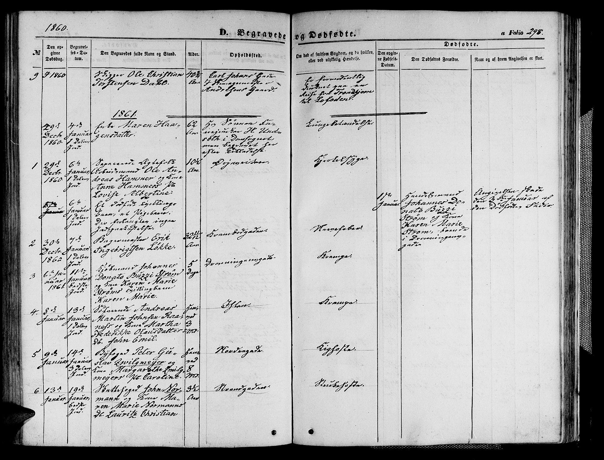 SAT, Ministerialprotokoller, klokkerbøker og fødselsregistre - Sør-Trøndelag, 602/L0139: Klokkerbok nr. 602C07, 1859-1864, s. 298