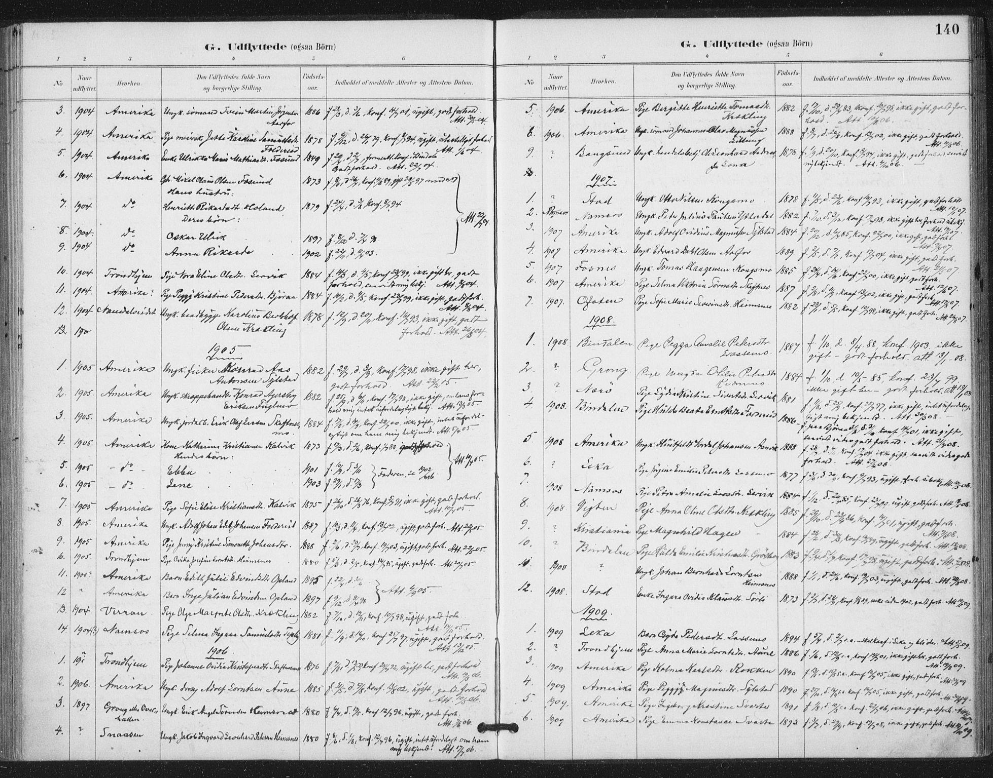 SAT, Ministerialprotokoller, klokkerbøker og fødselsregistre - Nord-Trøndelag, 783/L0660: Ministerialbok nr. 783A02, 1886-1918, s. 140