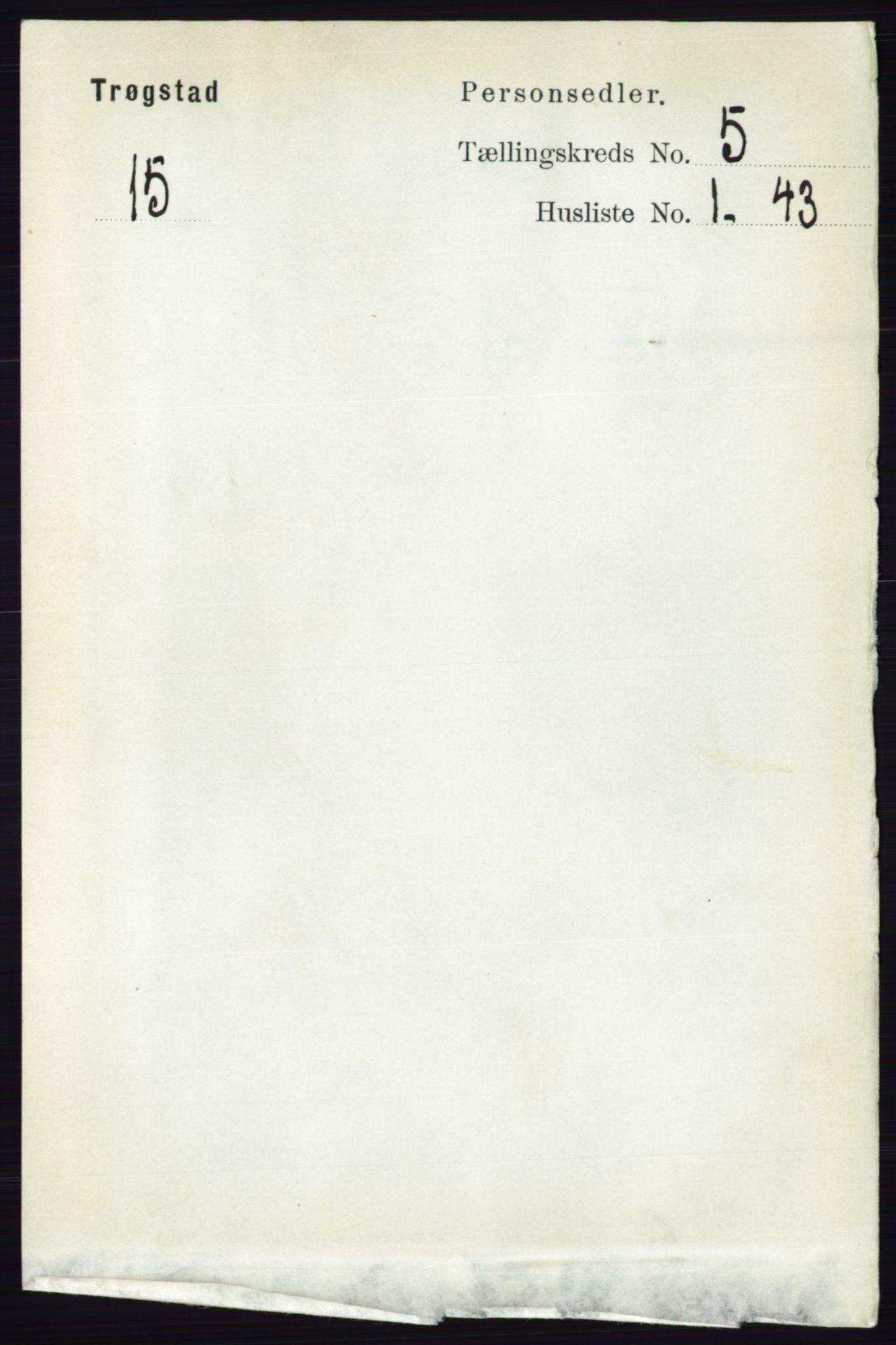 RA, Folketelling 1891 for 0122 Trøgstad herred, 1891, s. 2025